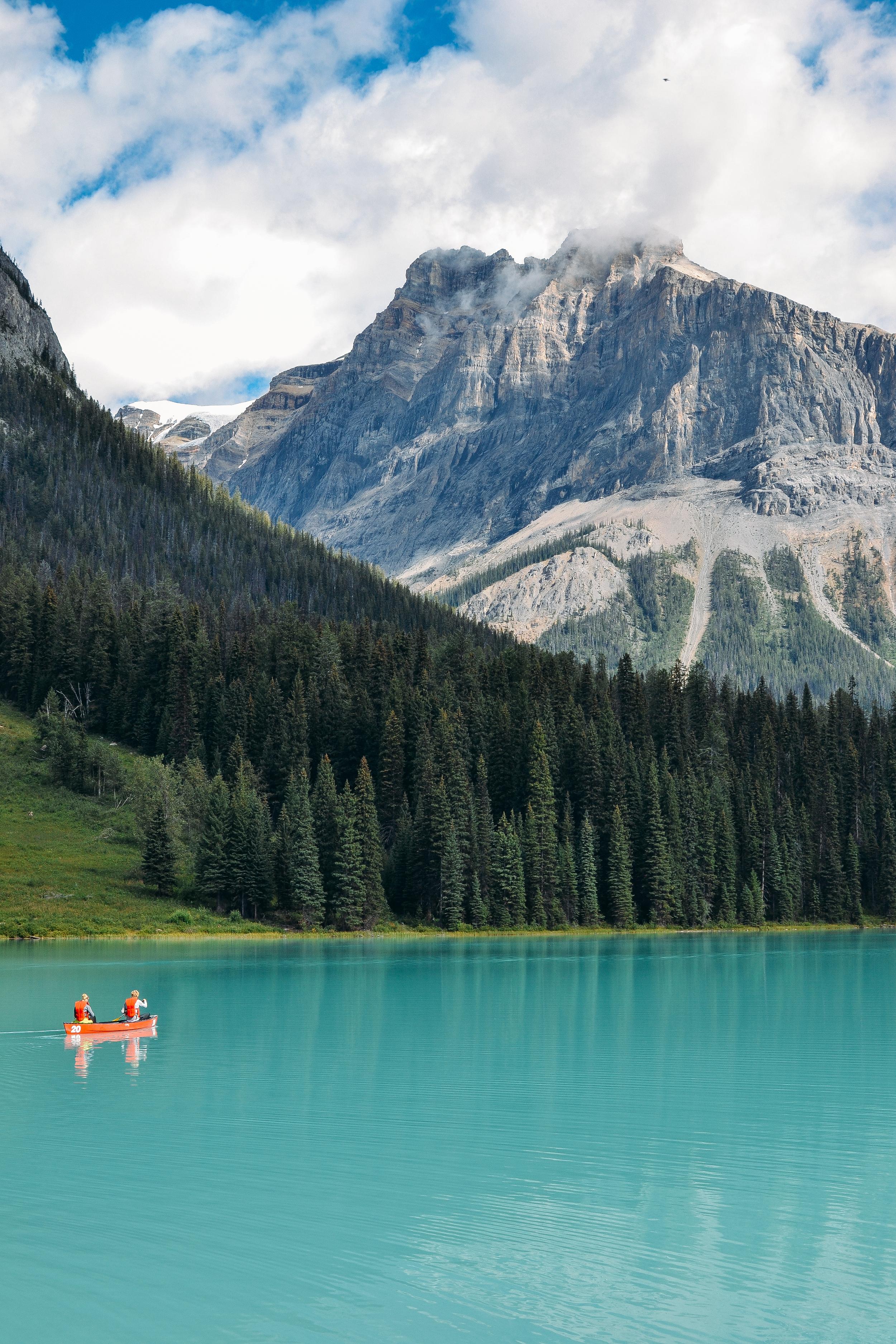 billie norman emerald lake canada