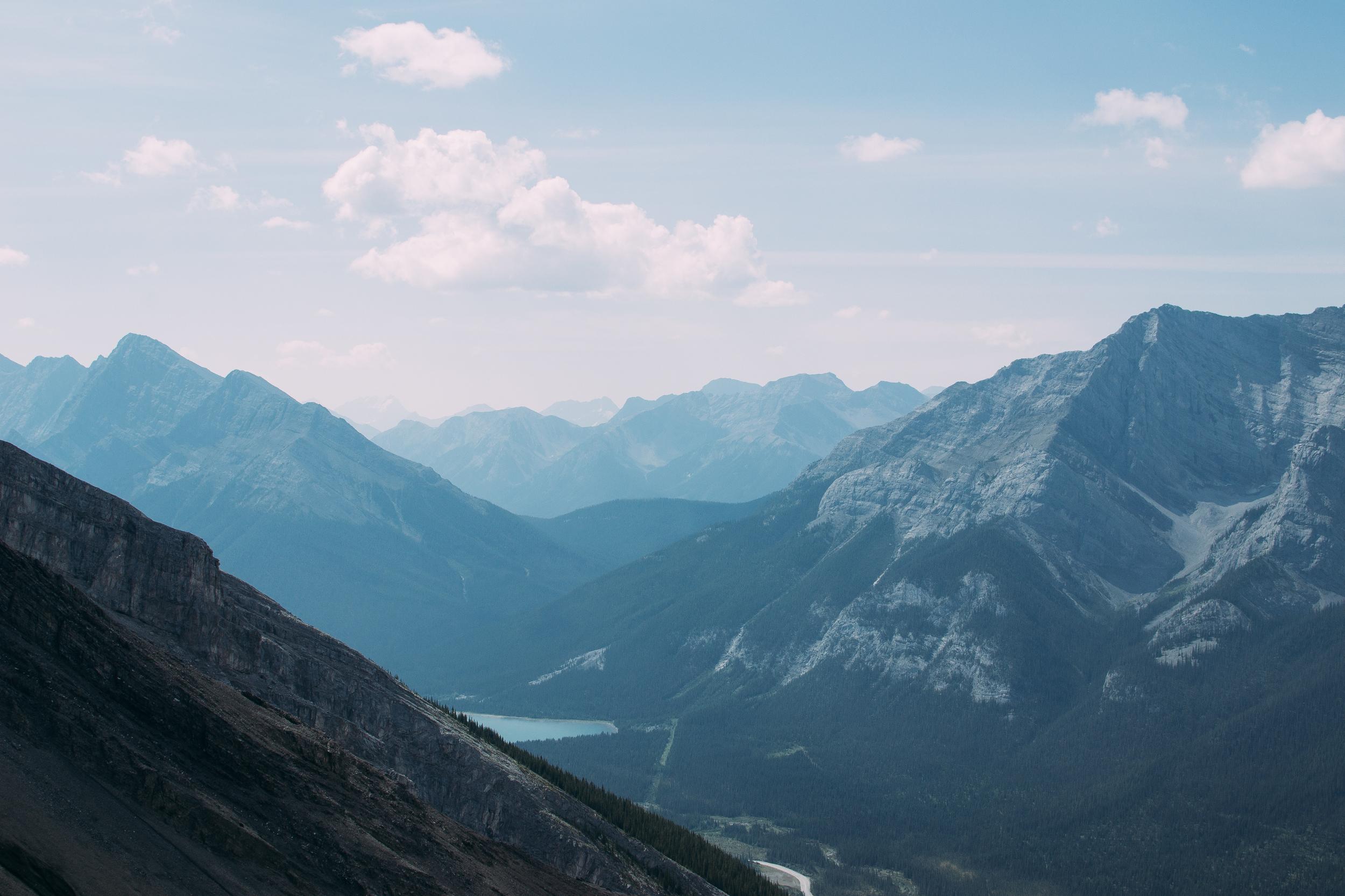 billie norman ha ling peak canmore hiking