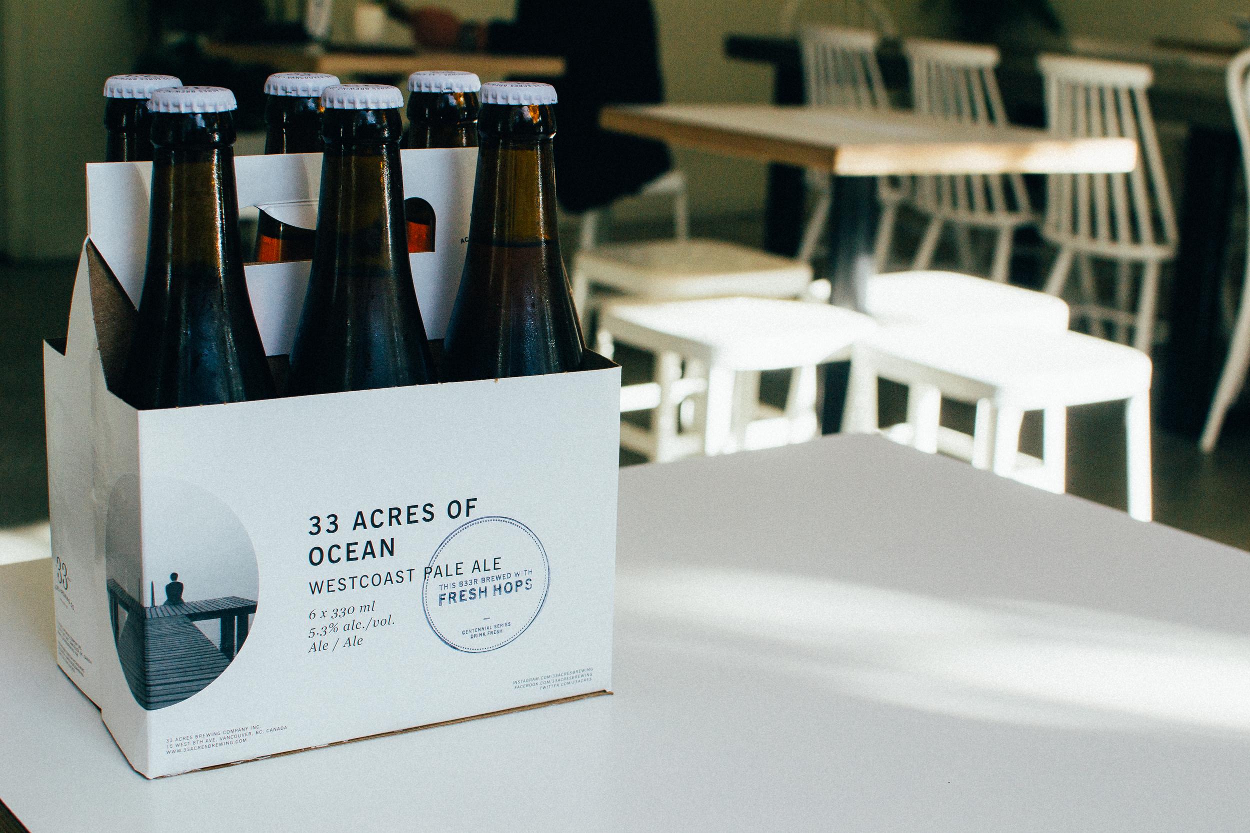 33 Acres Brewing Company Voyage Collective