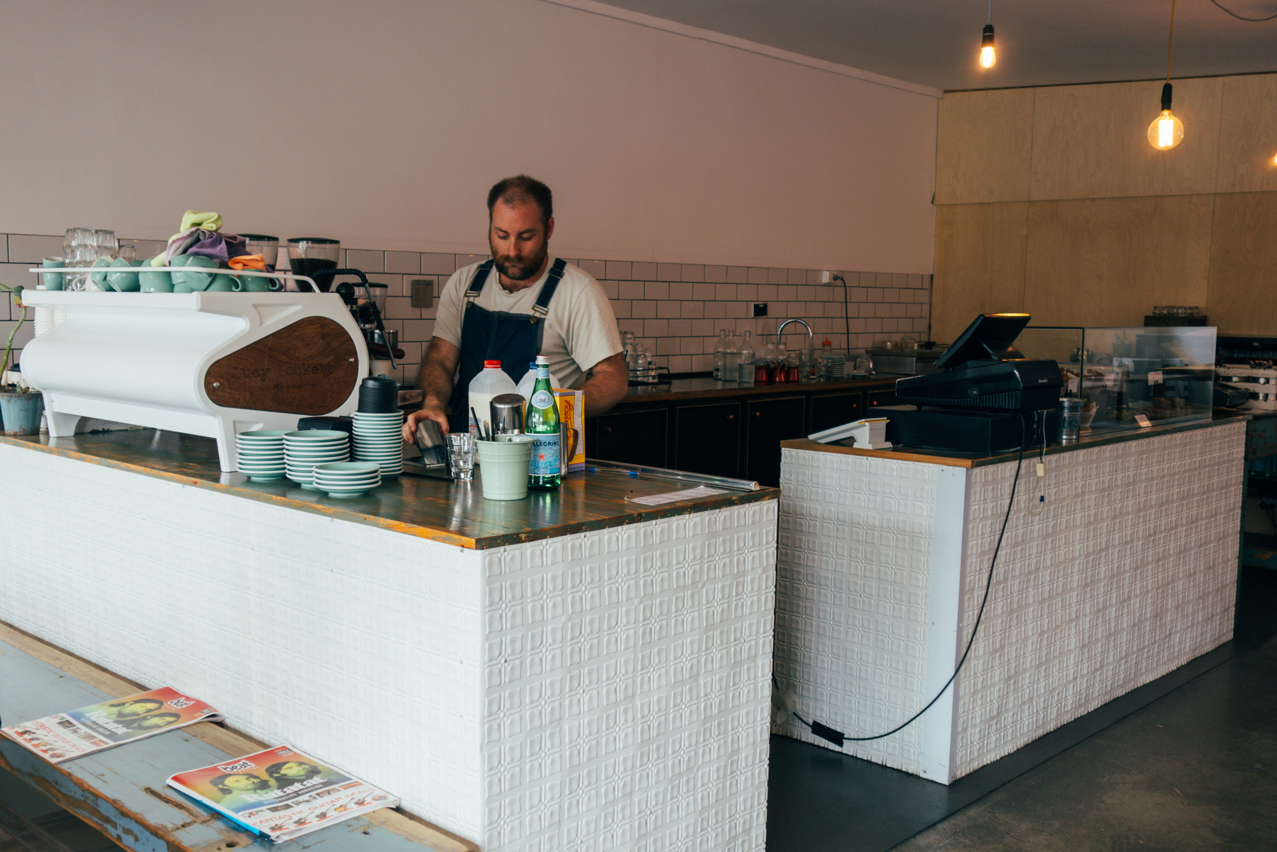 lucy lockett coffee counter
