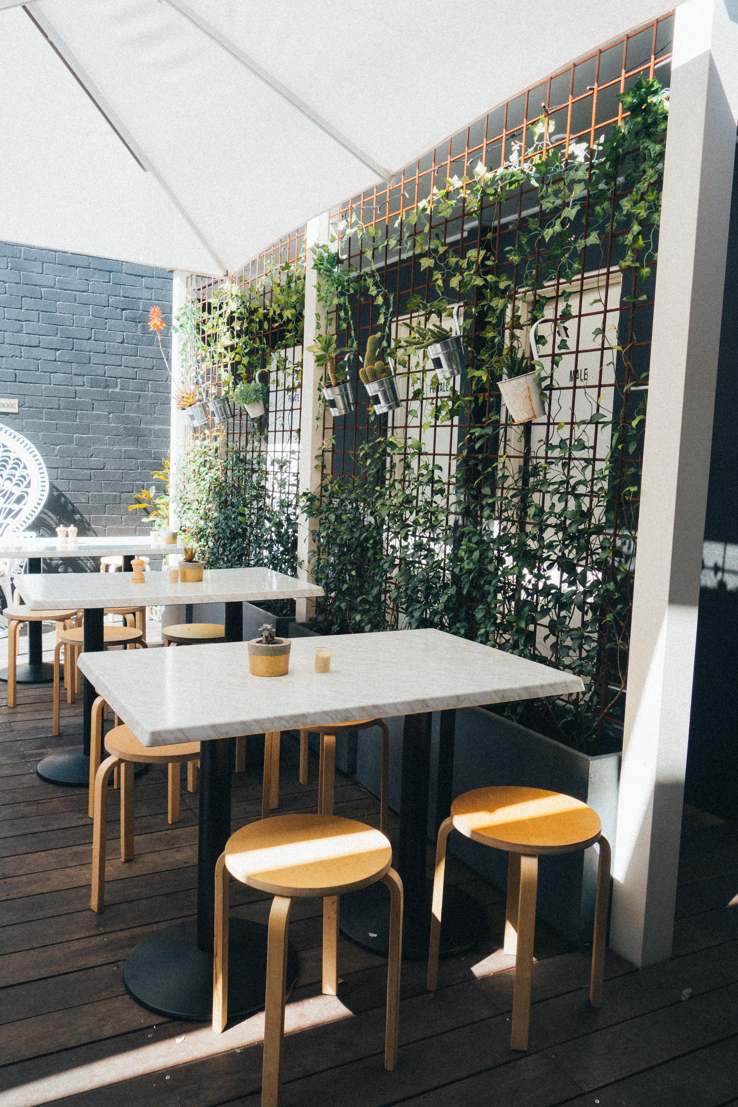 serotonin eatery outside seating