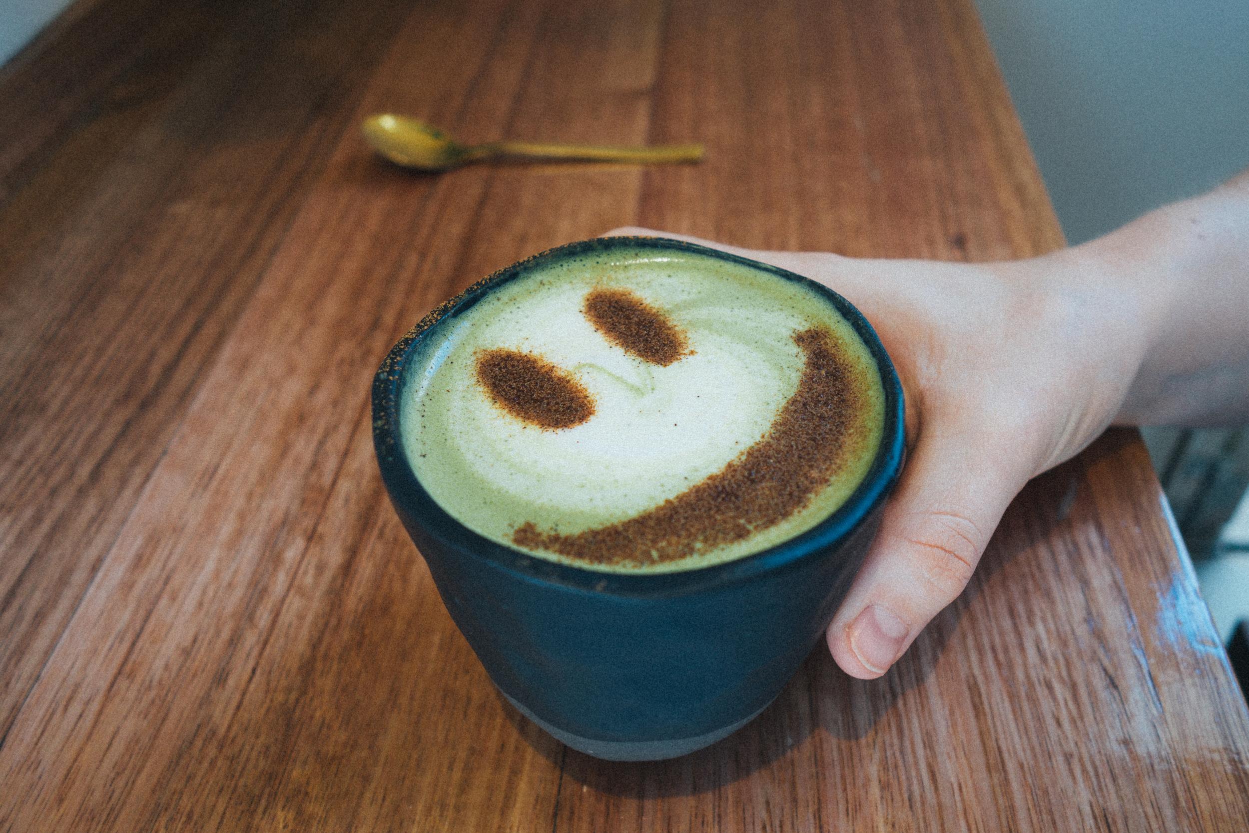 serotonin eatery matcha latte