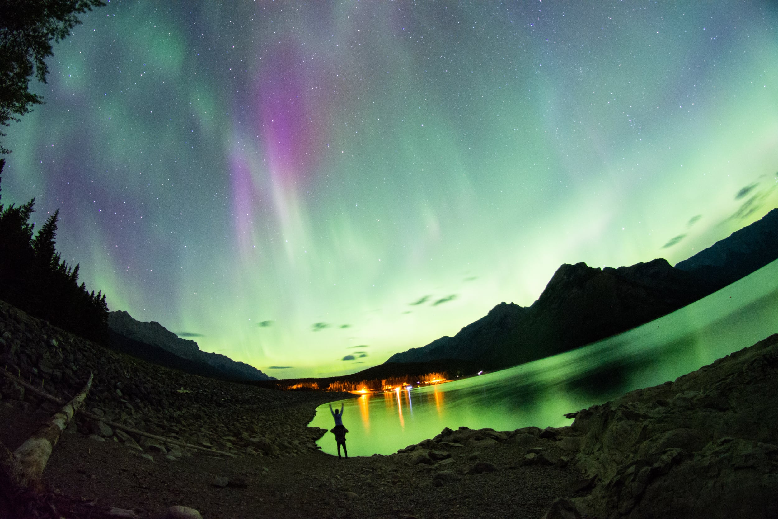 northern lights banff sam hobley