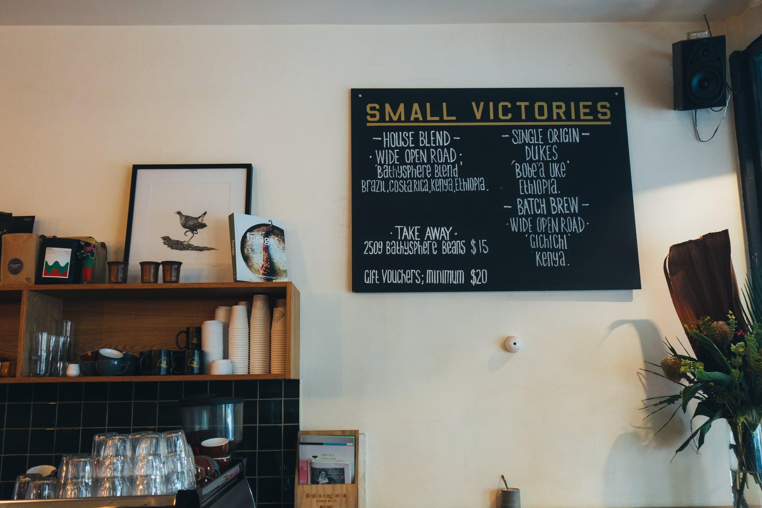 voyage collective small victories interior