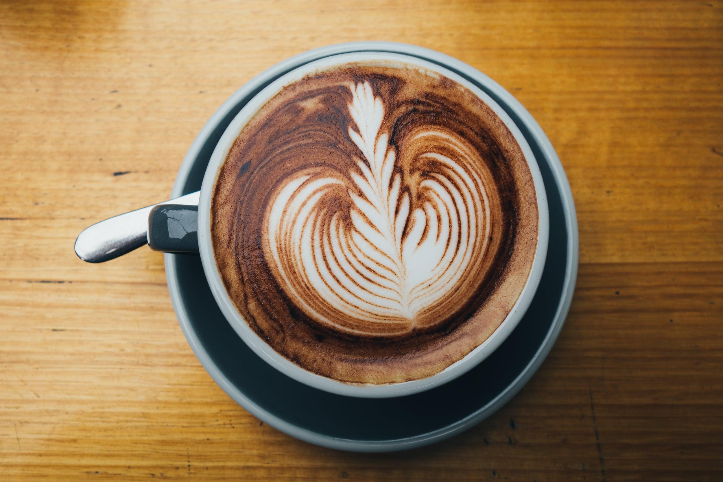 small victories coffee cappuccino