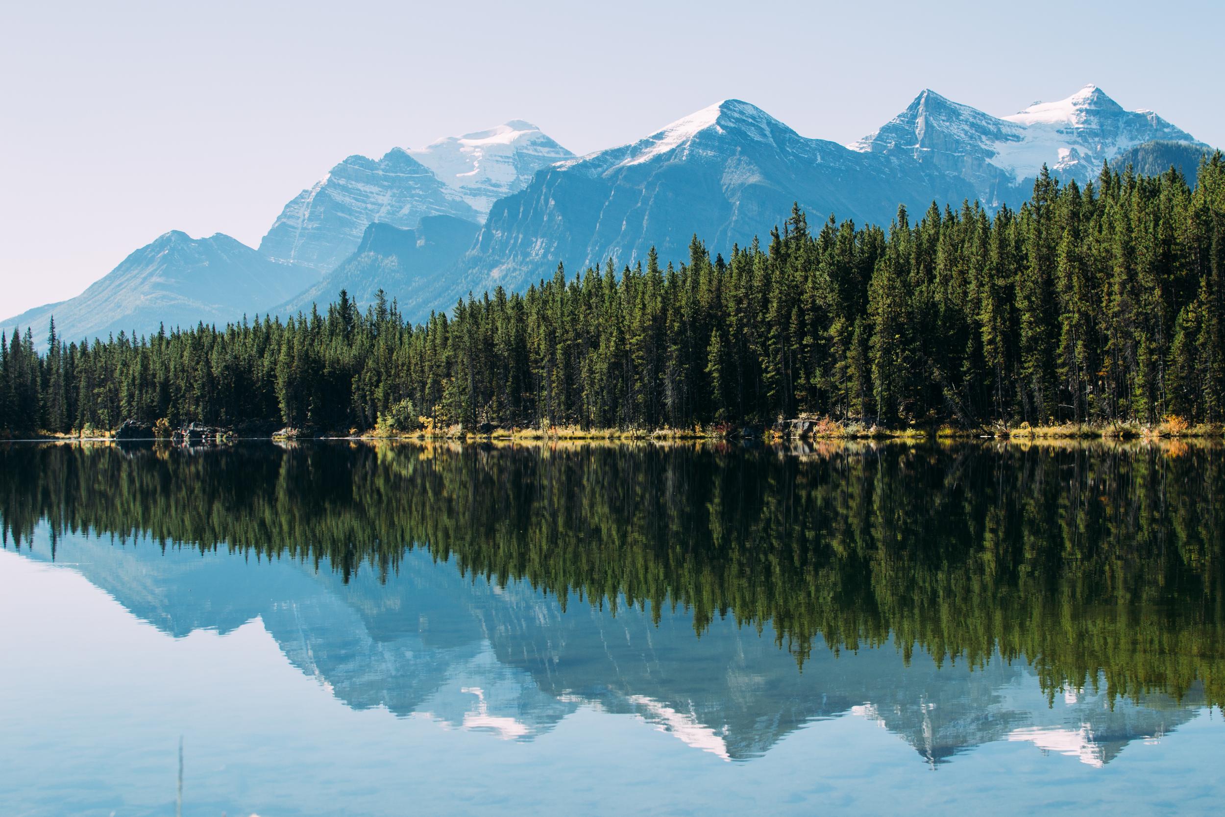 Herbert Lake Alberta Canada Voyage Collective Billie Norman