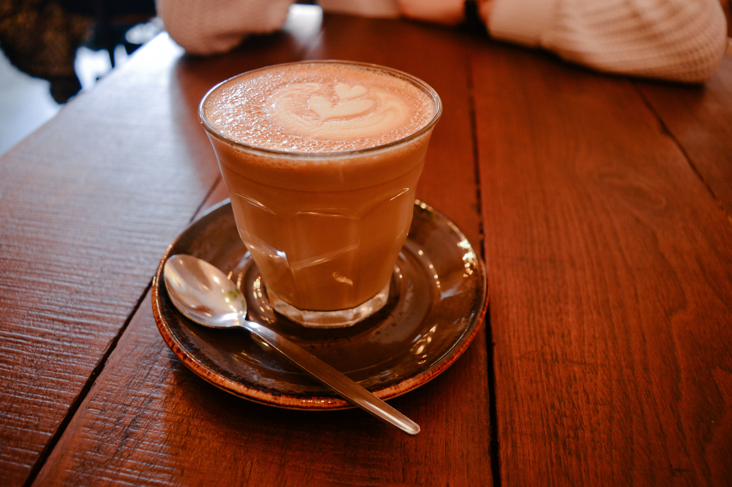 Roamers Voyage Collective Fi McCrindle latte