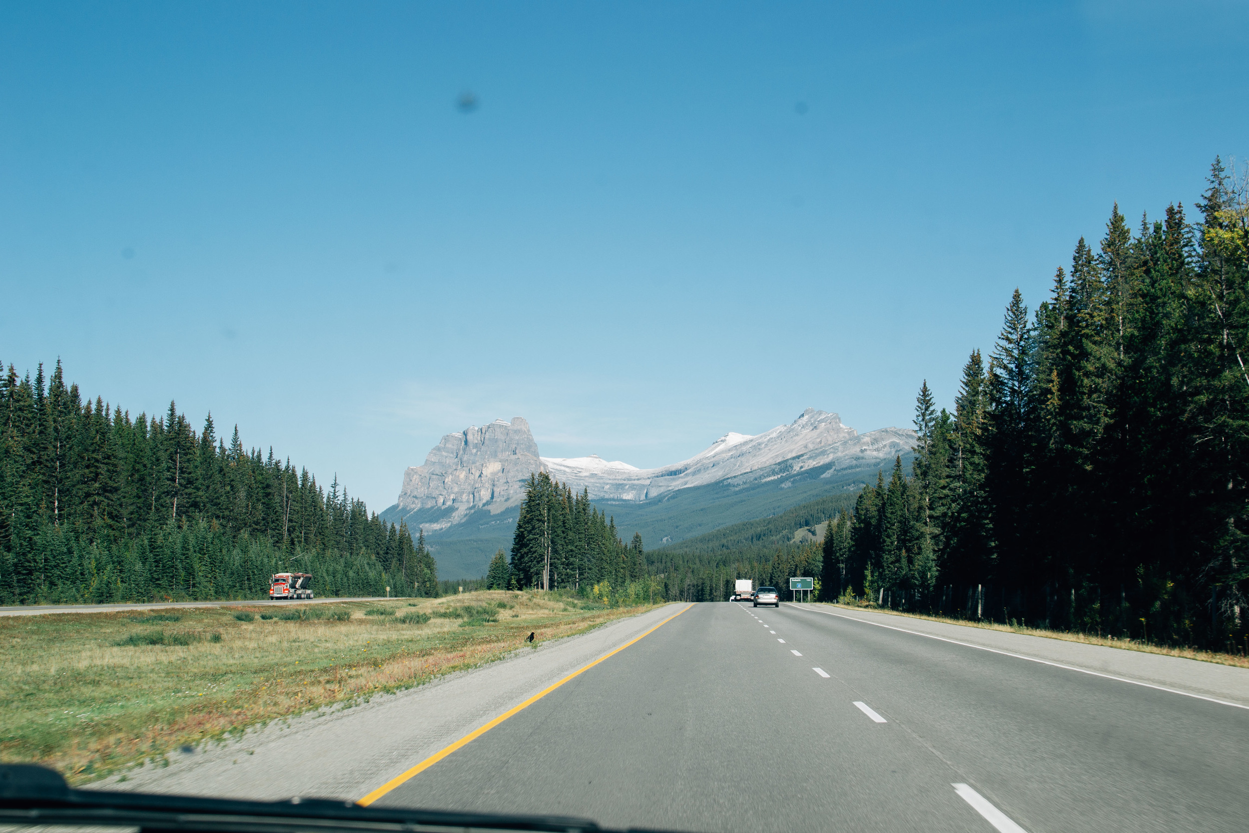 Castle Mountain roadtrip Alberta Canada Voyage Collective Billie Norman