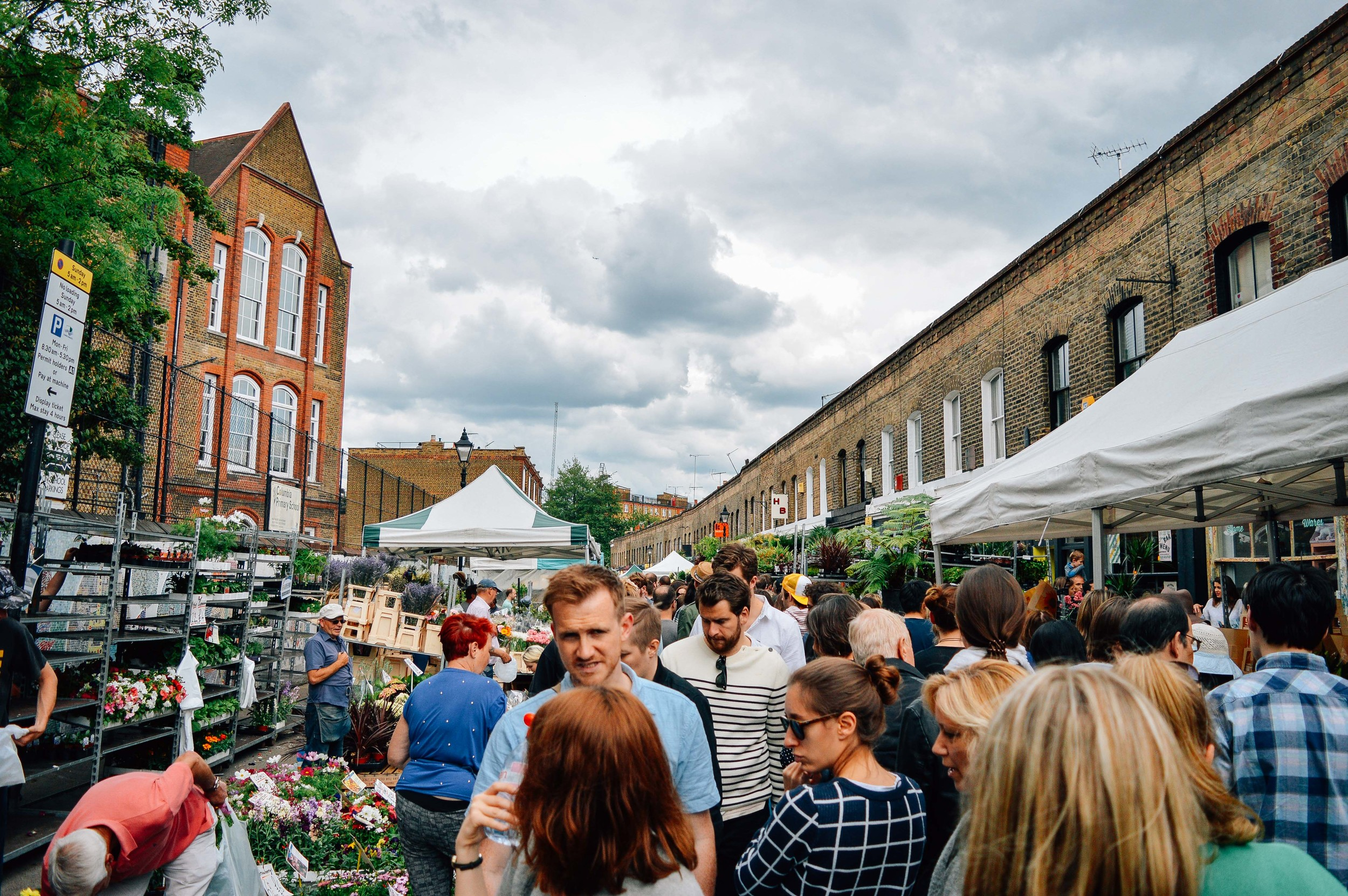 Columbia Road Flower Market Voyage Collective Fi McCrindle