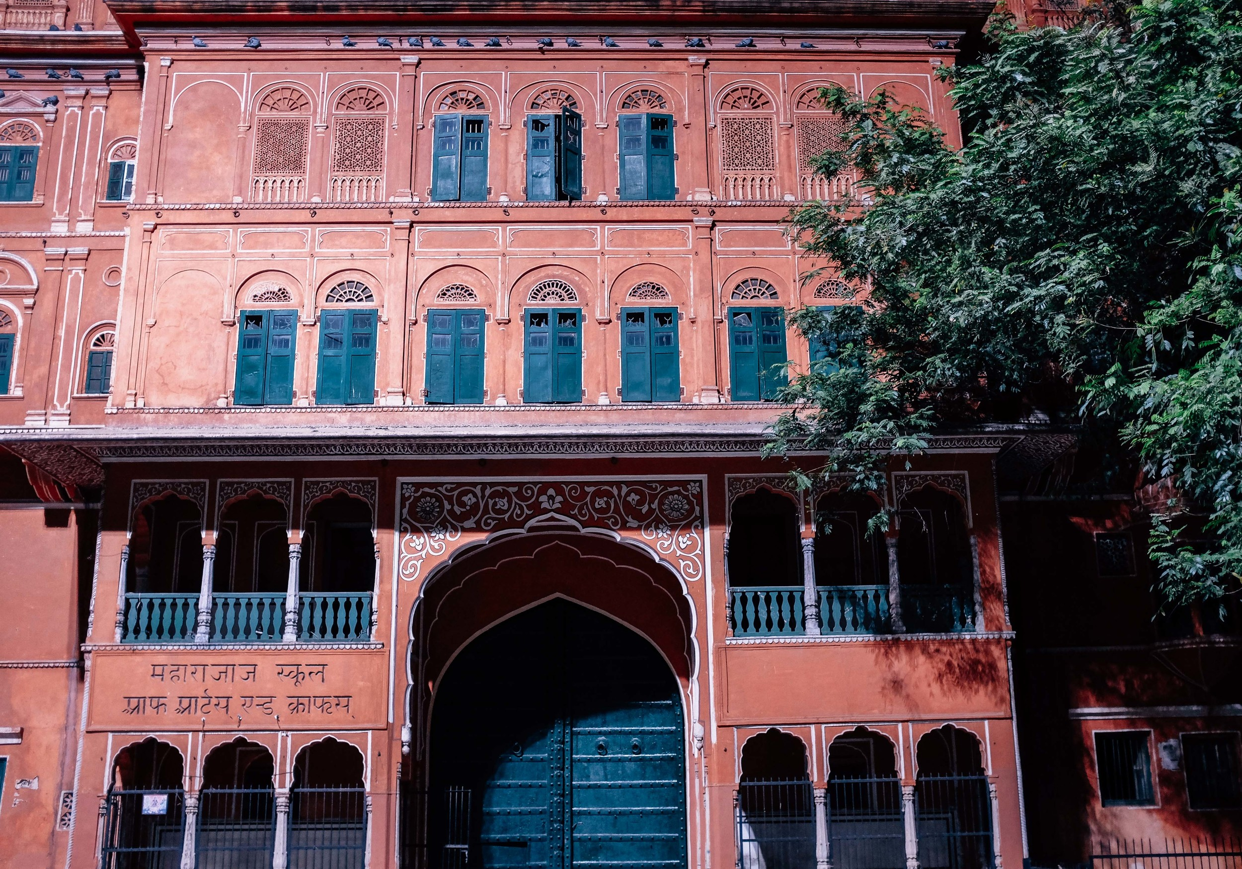 Pink City Jaipur Voyage Collective Abi Tudor
