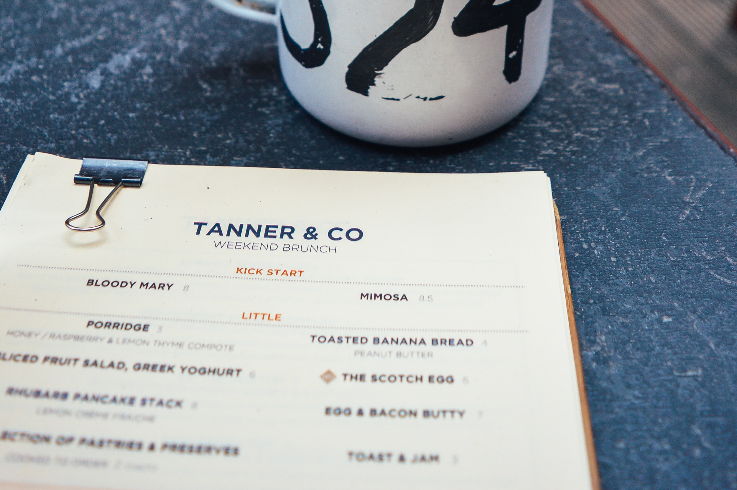 Tanner and Co London Voyage Collective Fi McCrindle