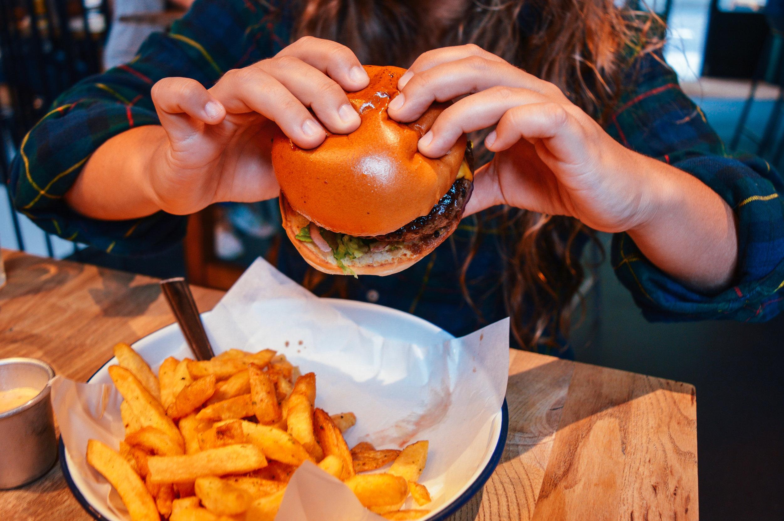 Honest Burger London Voyage Collective Fi McCrindle