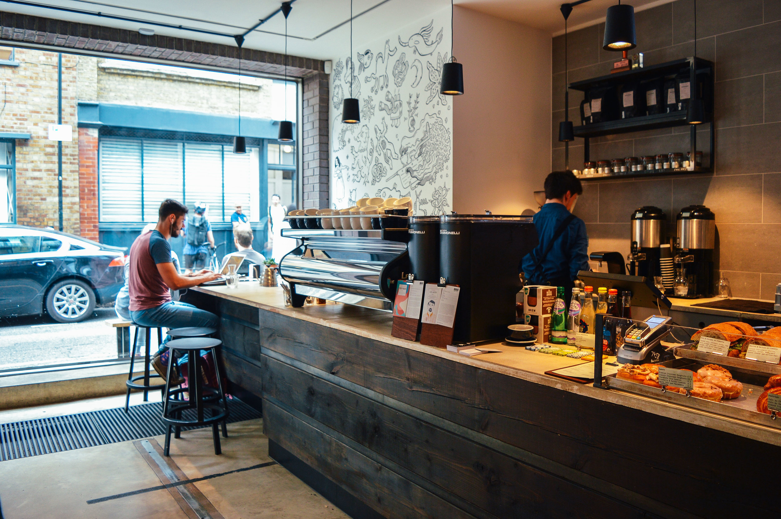 Origin Coffee Roasters London Voyage Collective Fi McCrindle Billie Norman