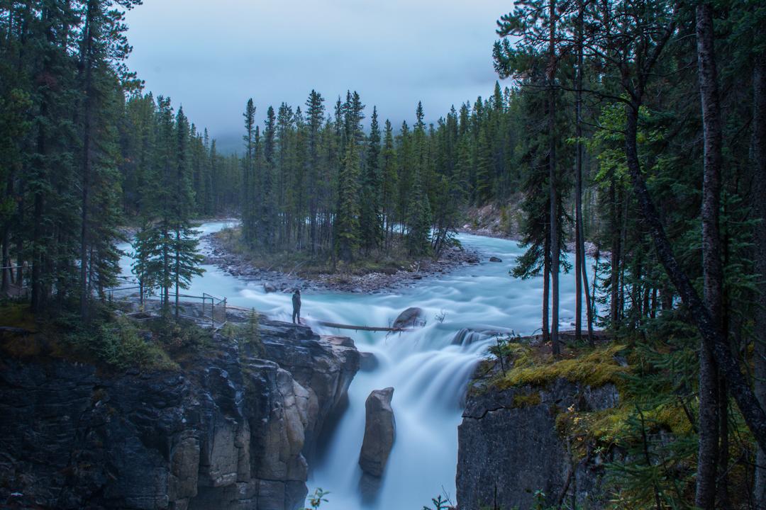 Sunwapta Falls Jasper Alberta Voyage Collective Sam Hobley