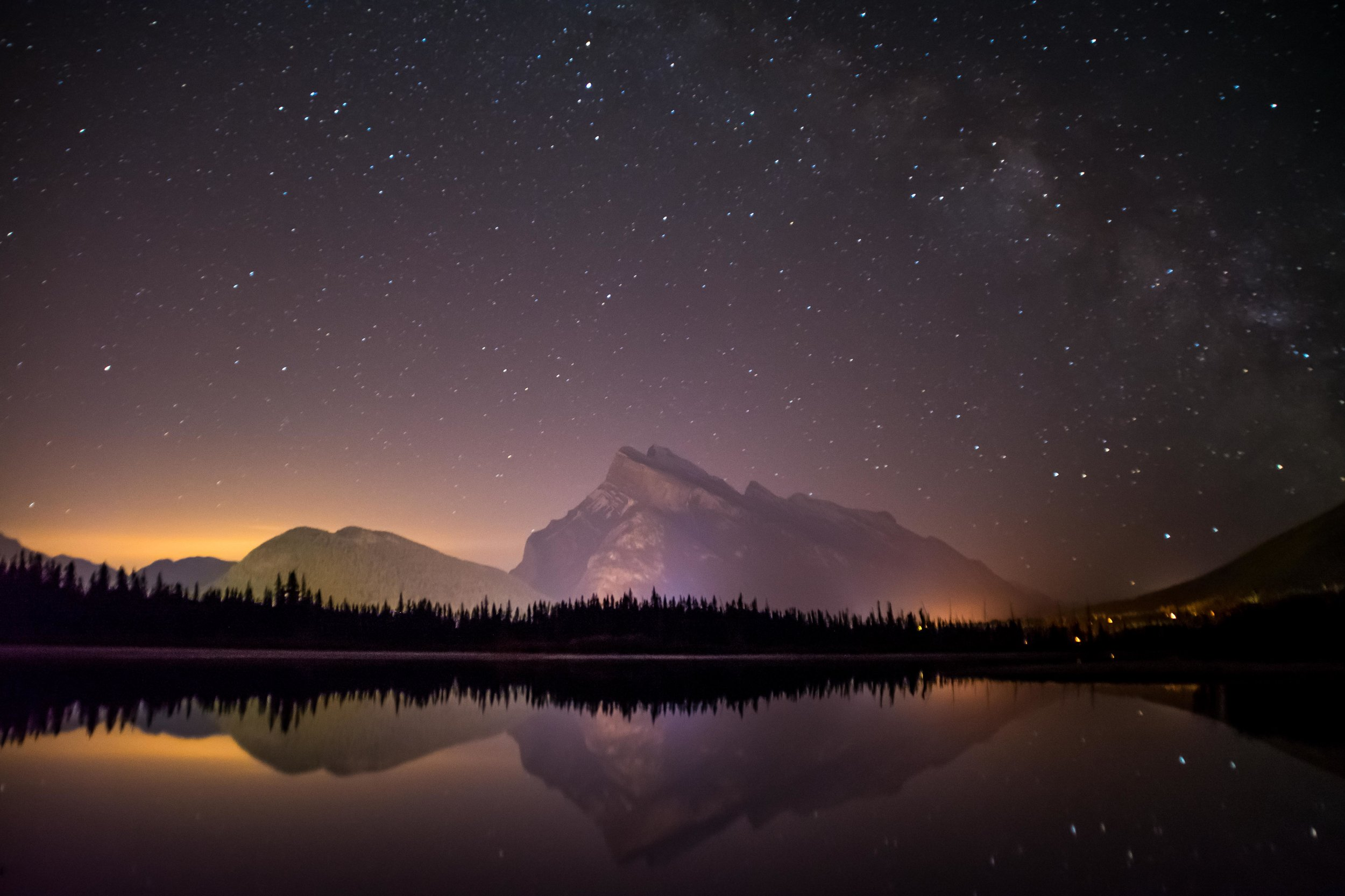 Vermilion Lakes Mount Rundle Tunnel Mountain Banff Alberta Voyage Collective Sam Hobley Photography