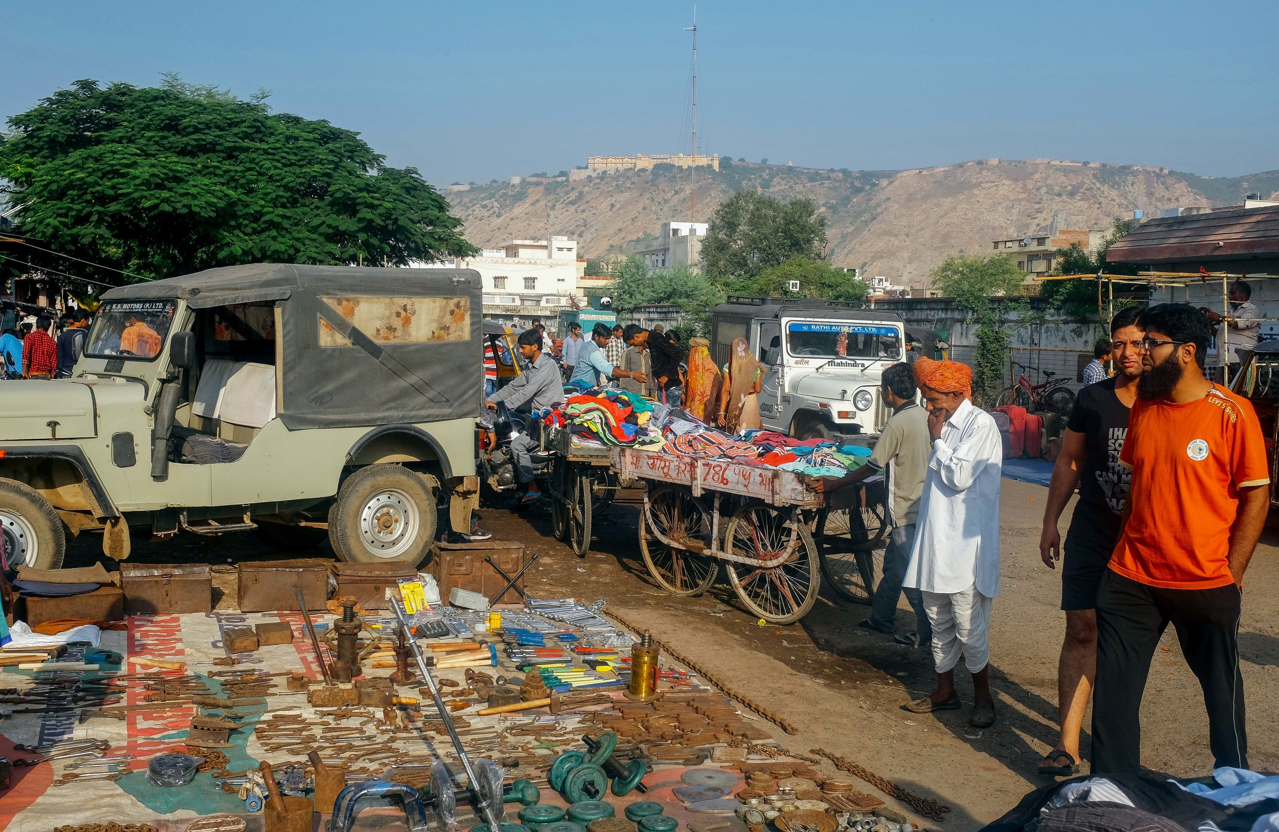 Thrift Shopping Central Market Pink City Jaipur Voyage Collective Abi Tudor