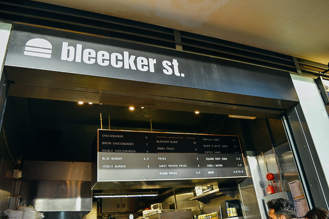 Bleecker Street Burger Fi McCrindle Voyage Collective