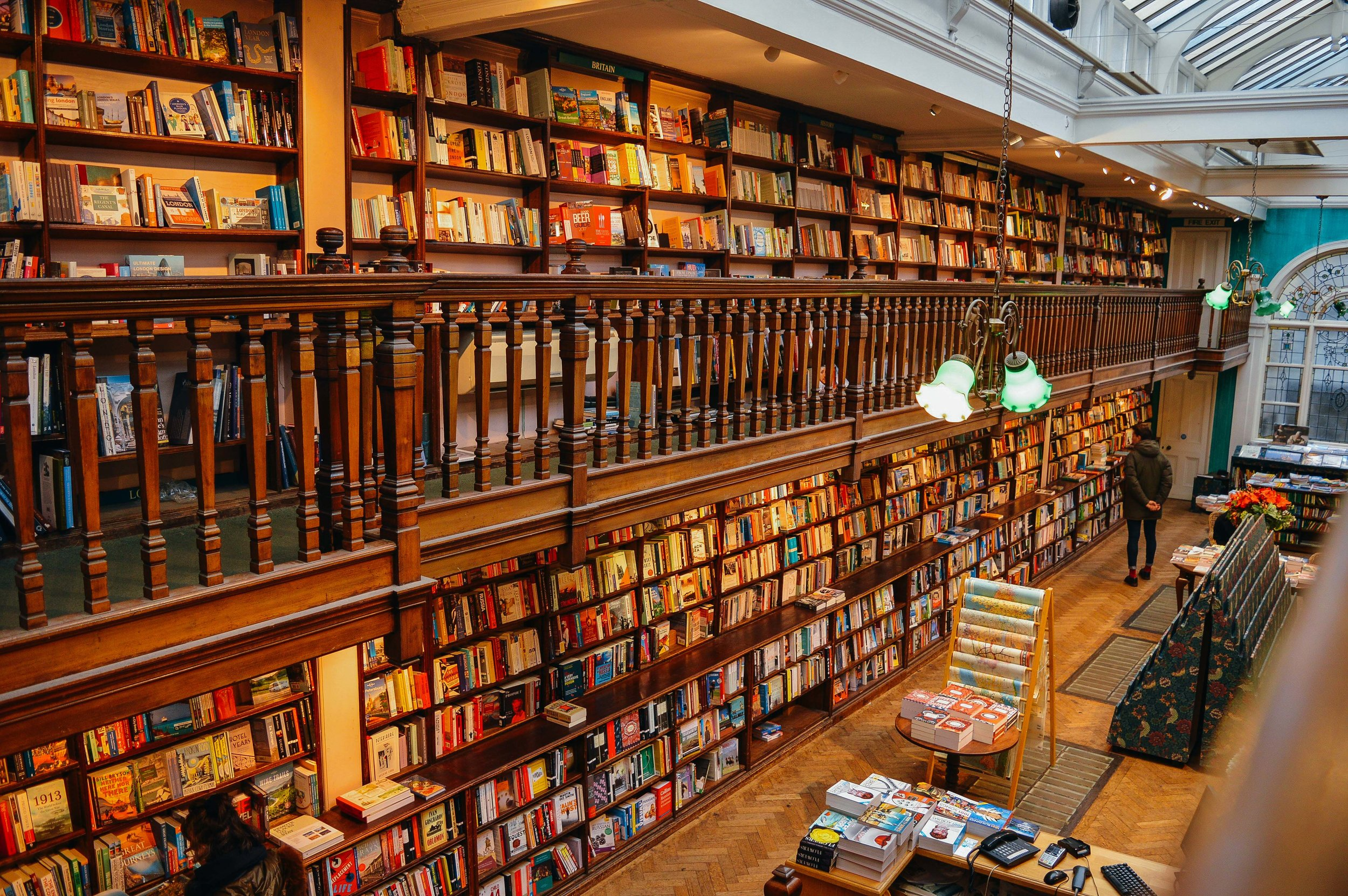 Daunt Books London Fi McCrindle Voyage Collective