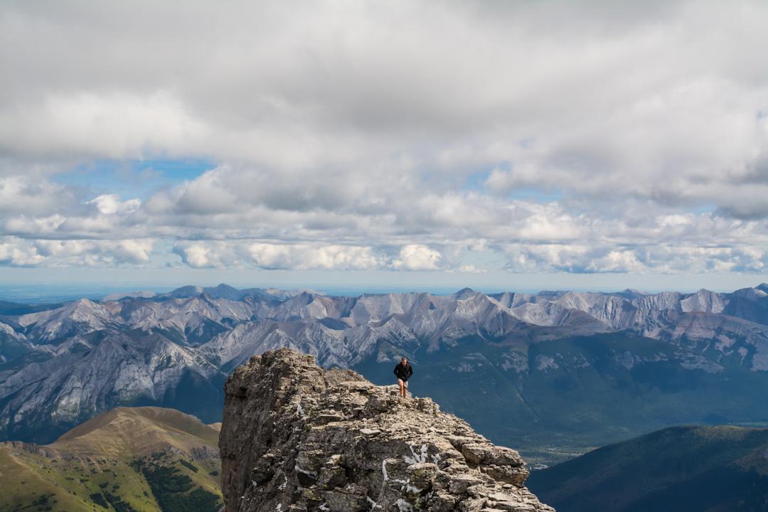 Mount Sparrowhawk Kananaskis Alberta Canada Voyage Collective Sam Hobley Photography