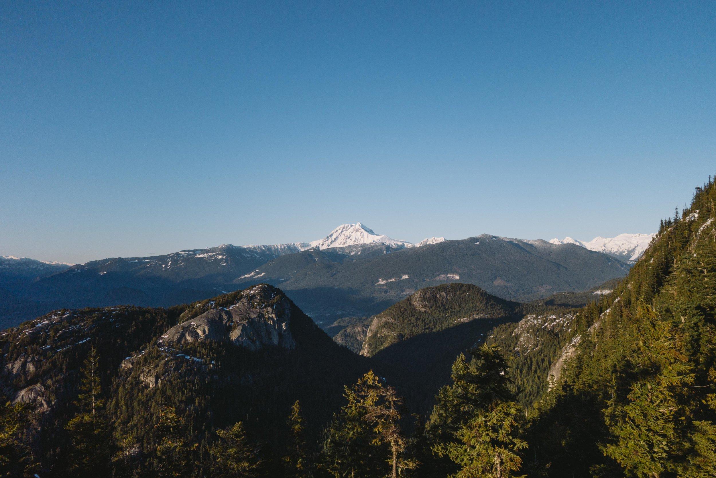 Diamond Head mountain Squamish British Columbia Billie Norman Voyage Collective