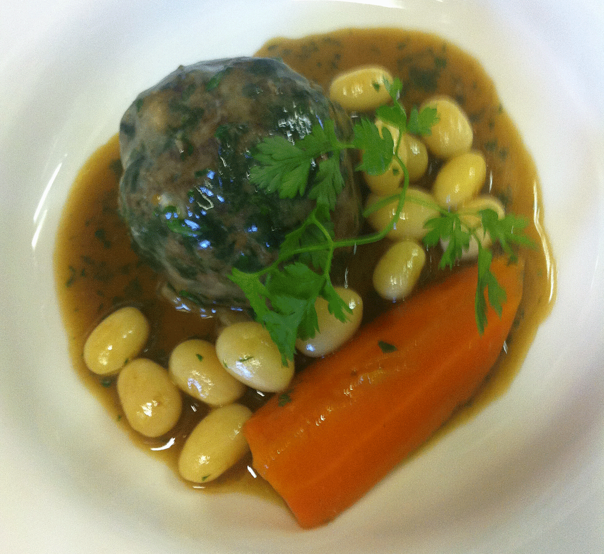 Caillette of North Ronaldsay Mutton