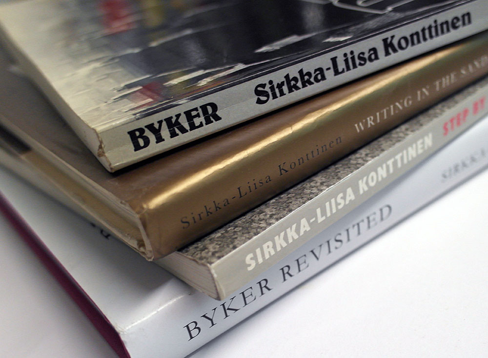 Byker, Writing in The Sand, step by Step & Byker Revisited.