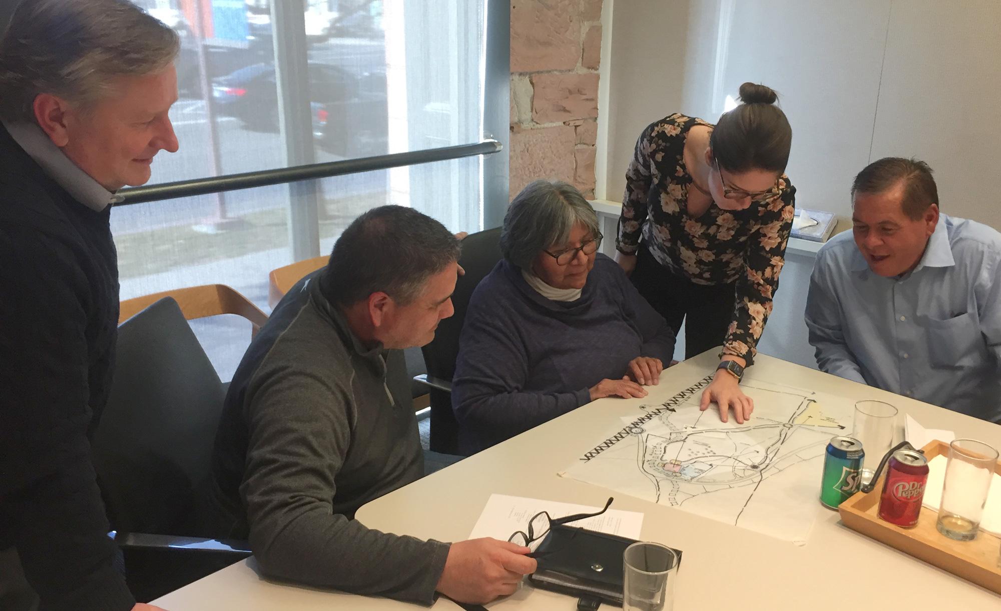 Visioning meeting at GSBS Architects