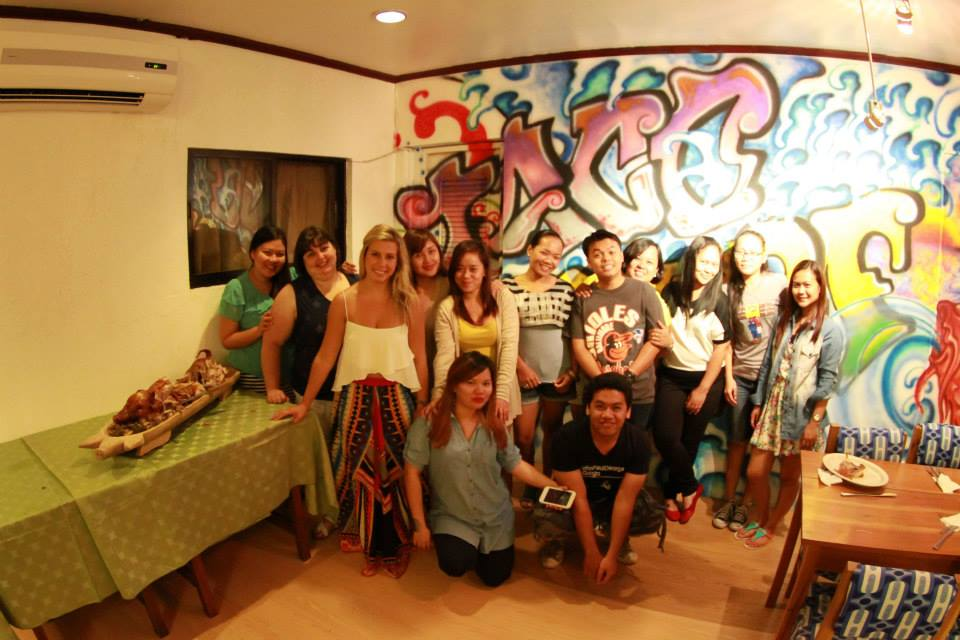 The AIFS team at Taco Surf, Hayahay.