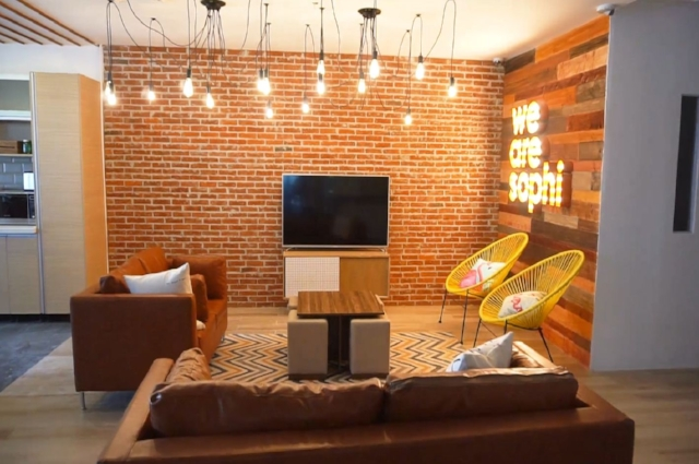 Check out our cozy lounge area!