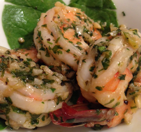 Sautéed Herbed Shrimp