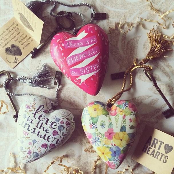 Art Hearts for DEMDACO