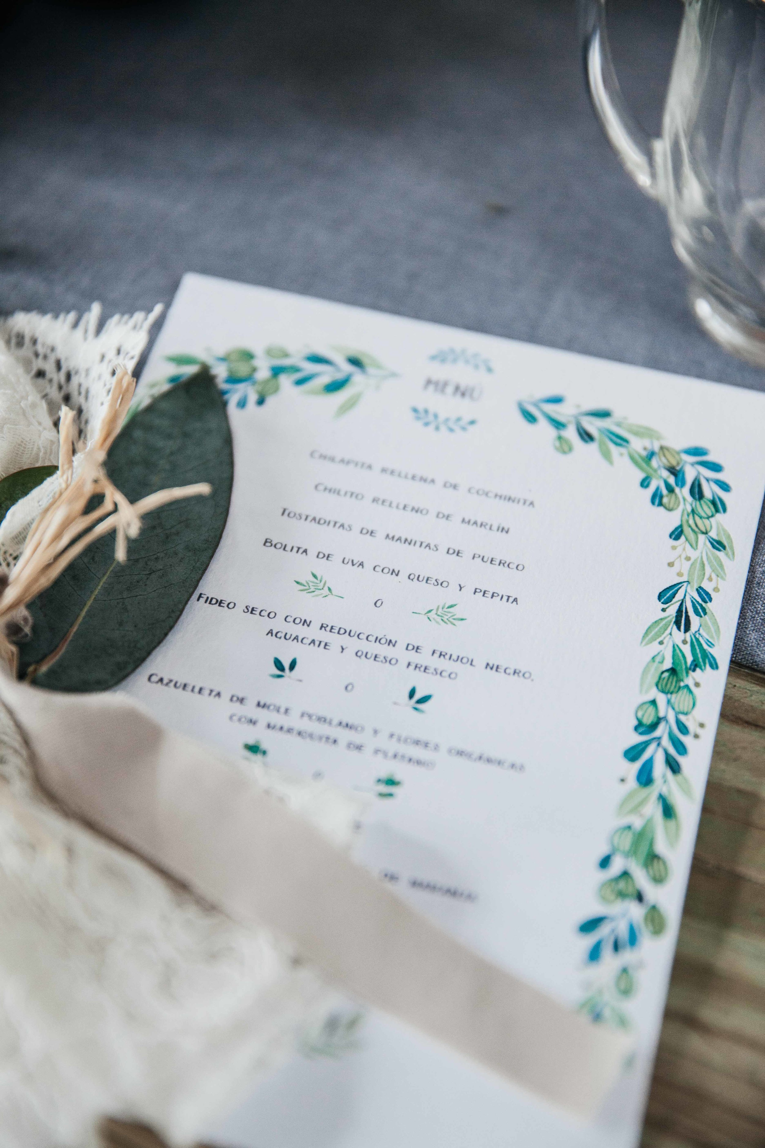 Happily Ever After menu, info events@anavictoriacalderon.com