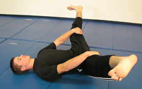 Exercise #4: Split your legs while lying on your back
