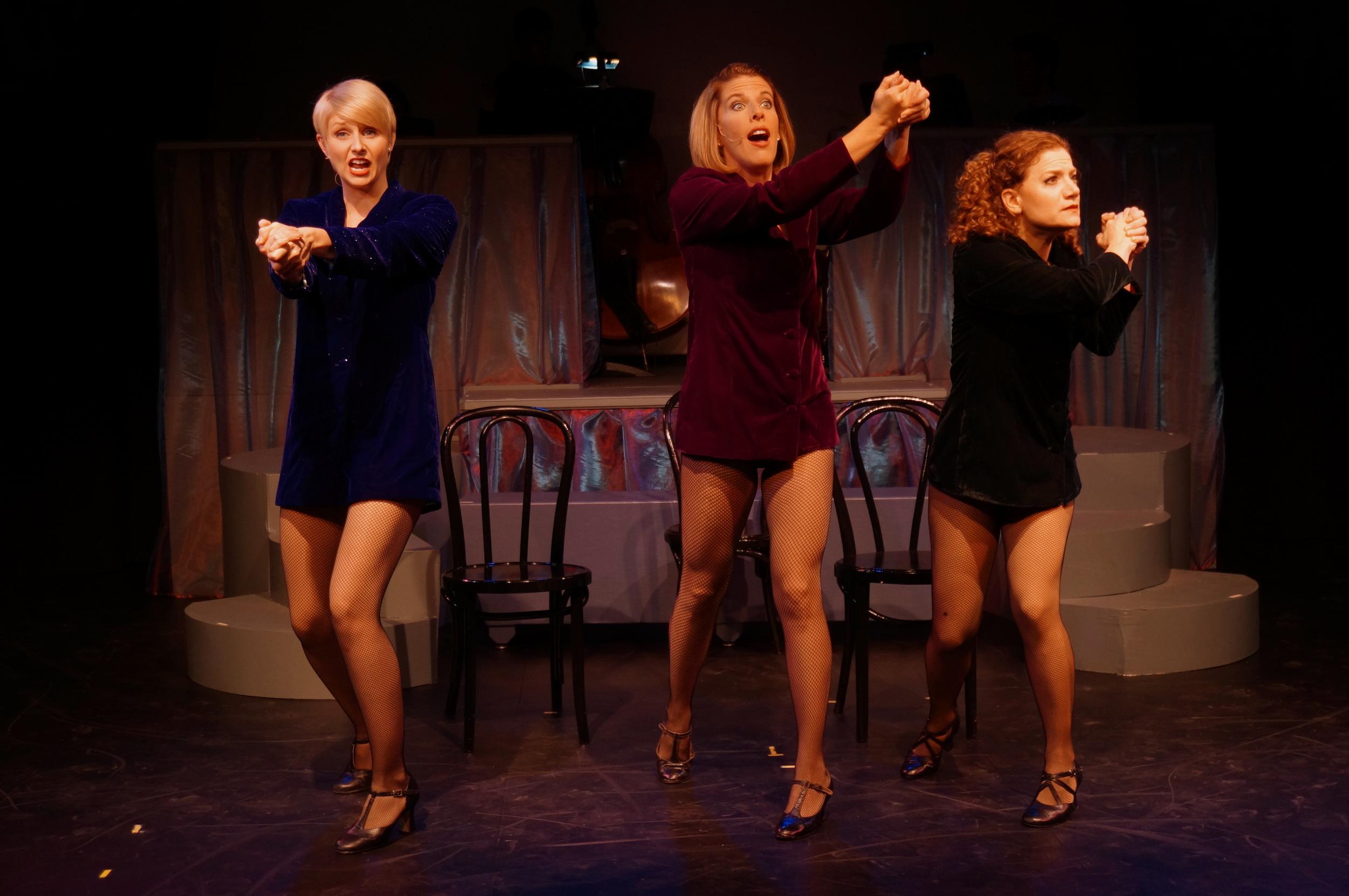 Melissa Carlile-Price, Trisha Rapier and Kathy Calahan