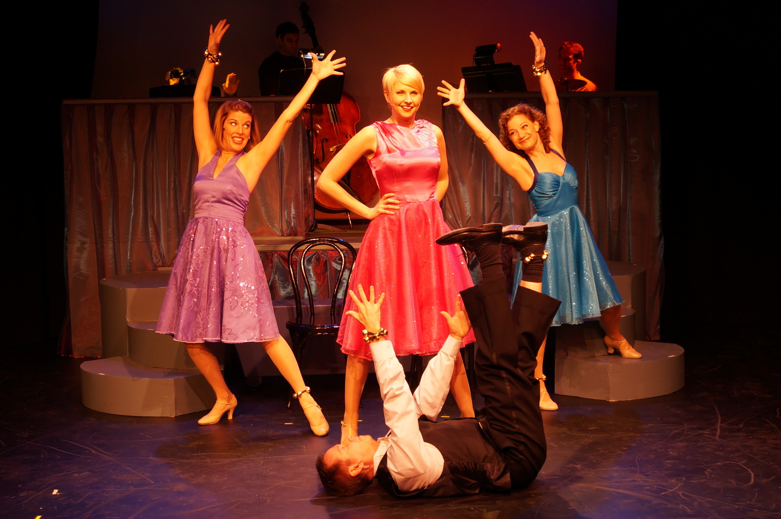 (Clockwise from left:) Trisha Rapier, Melissa Carlile-Price, Kathy Calahan and Eric Scott Kincaid