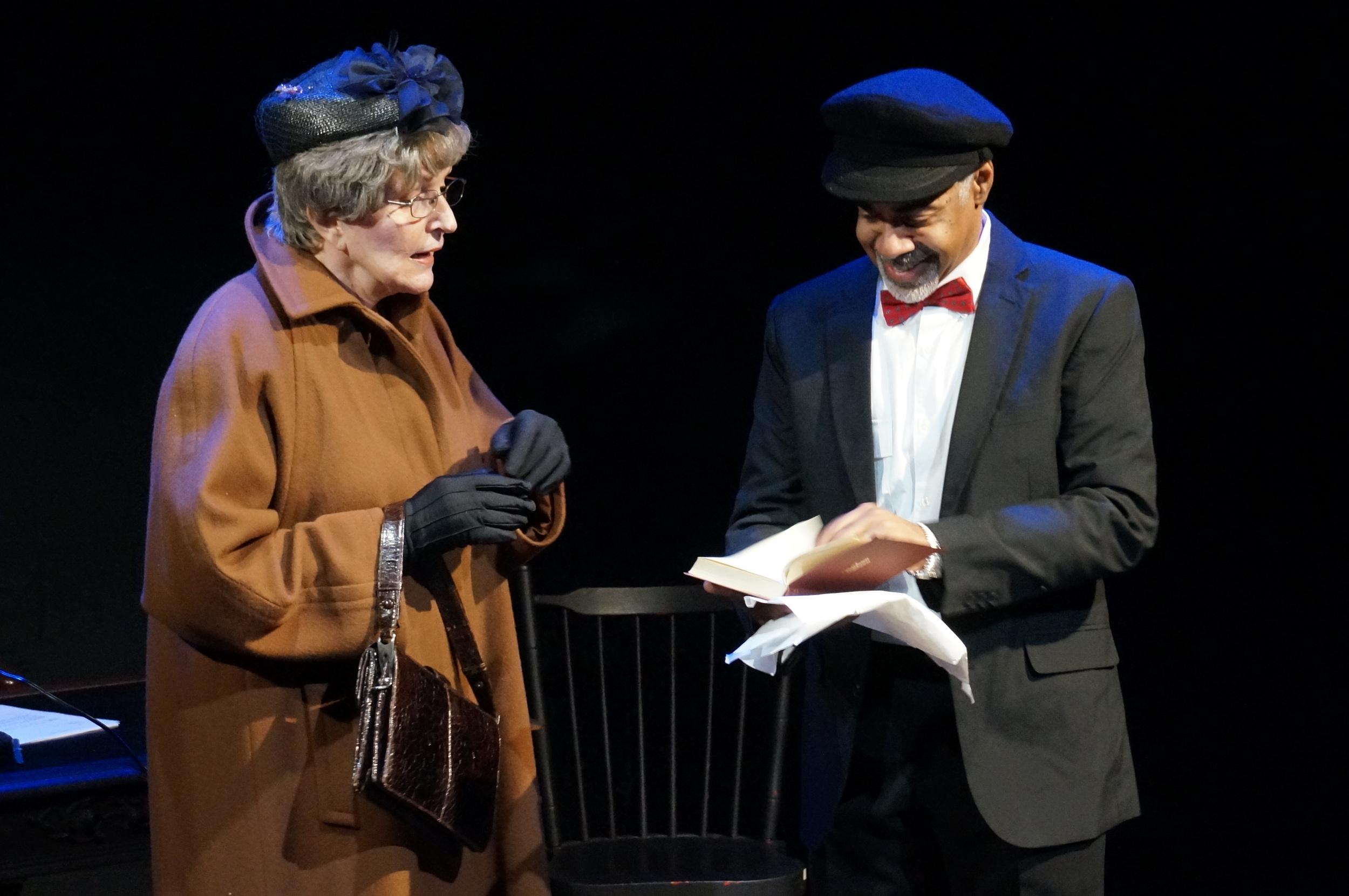 Rebecca Hoodwin and Lorenzo Scott