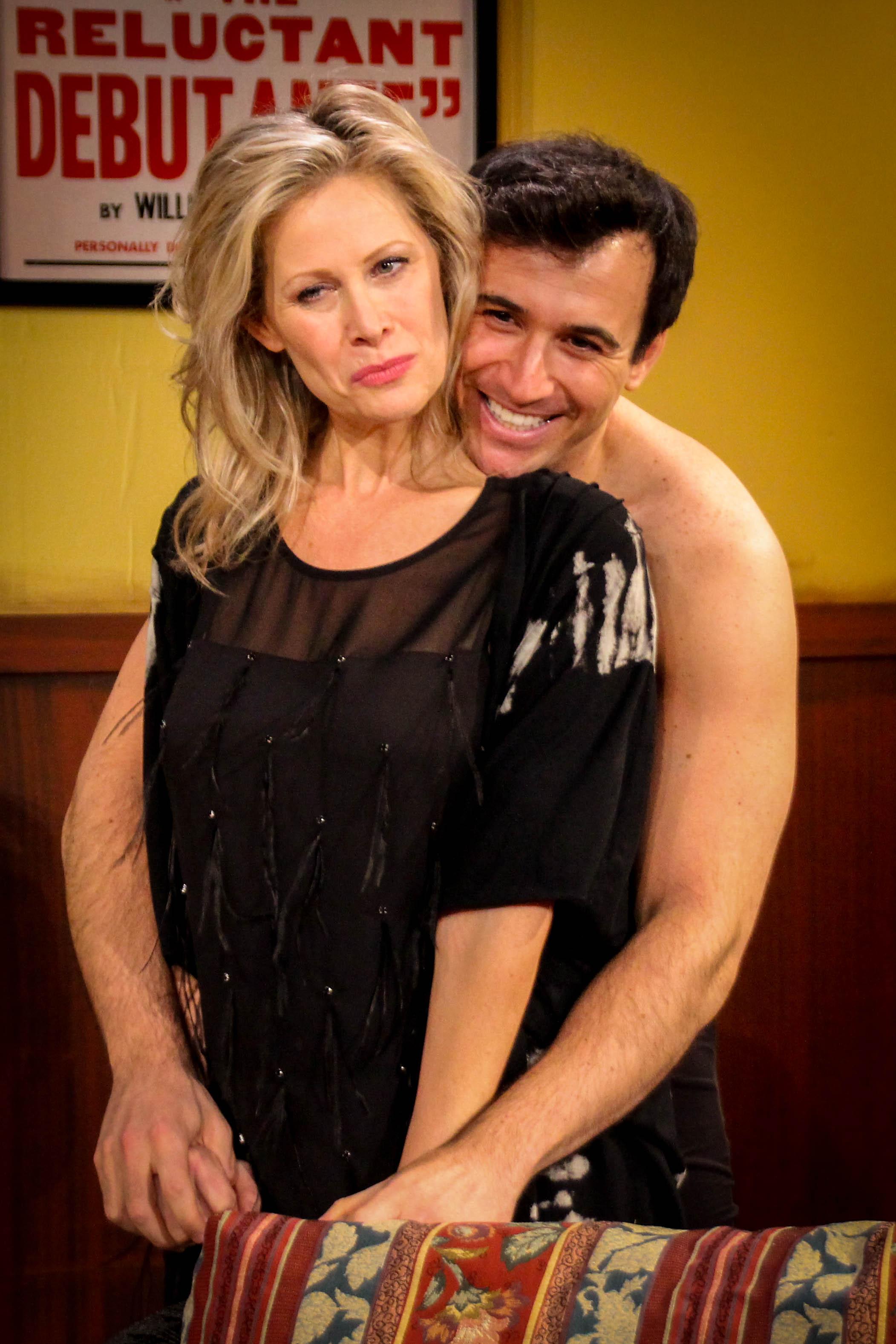 Jodi Stevens and Christopher DeRosa