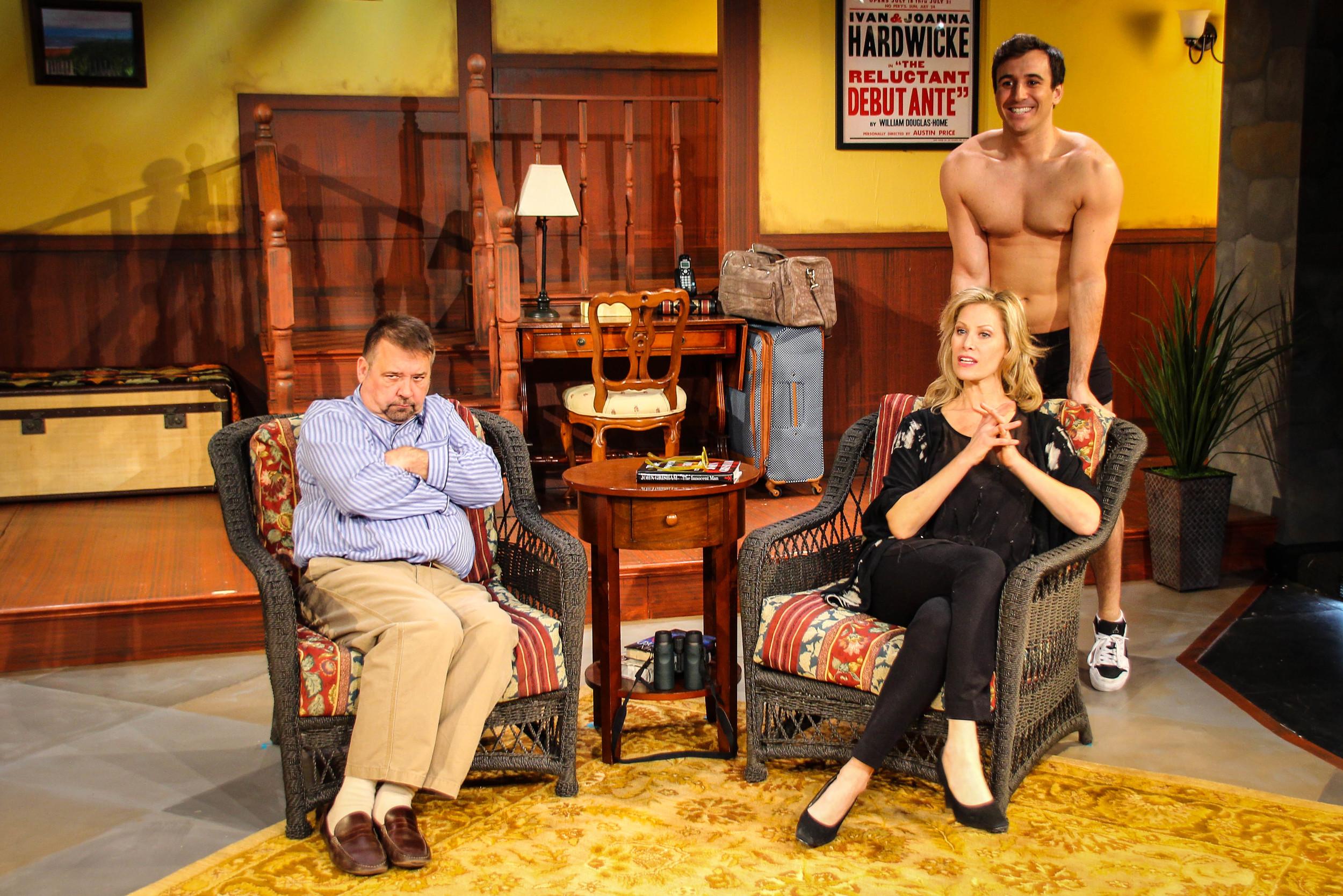 Jim Schilling, Jodi Stevens and Christopher DeRosa