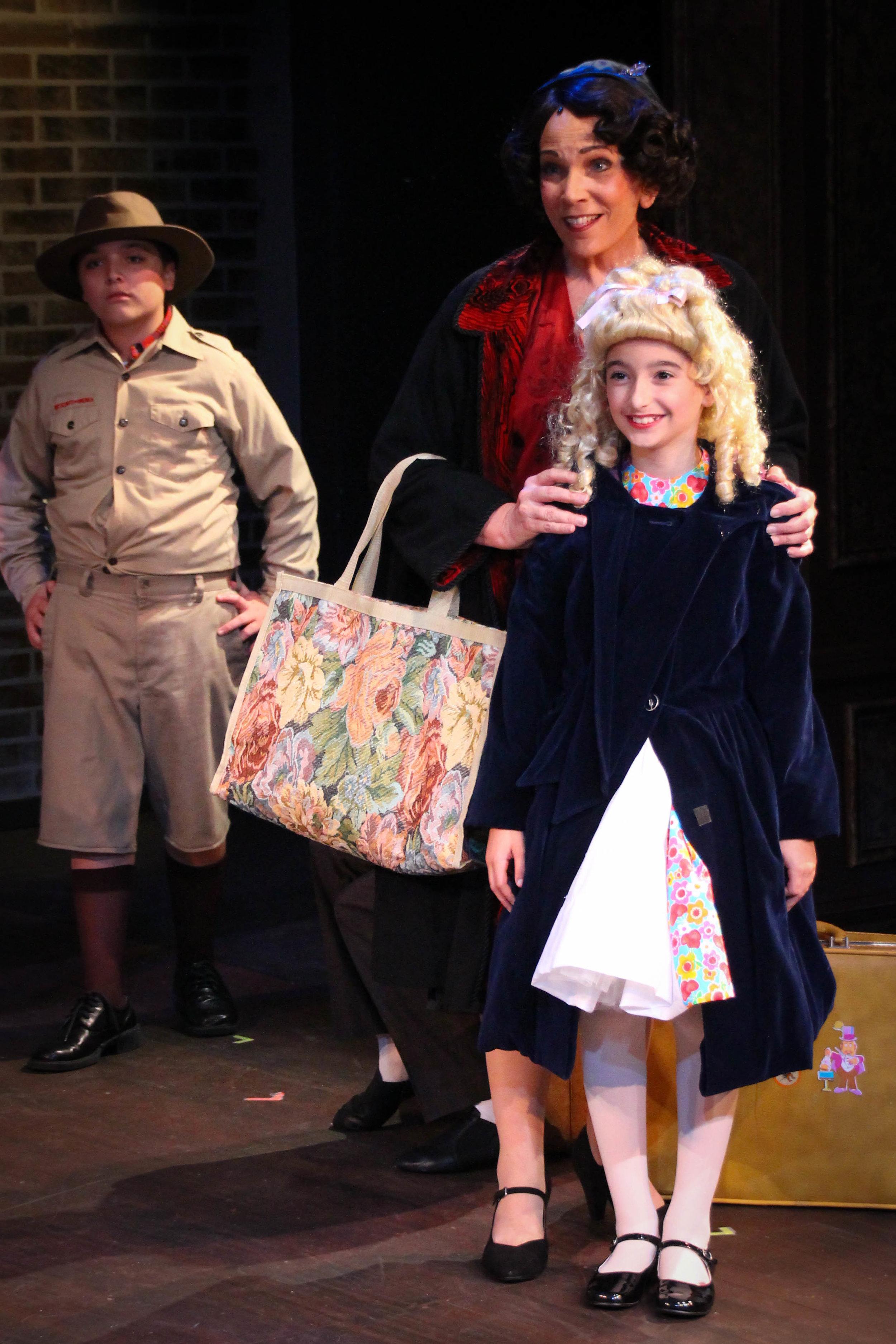 (L-R:)Charlie Pelletier,Kirsti Carnahan and Abby Sara Dahan (Photo by Joe Landry)