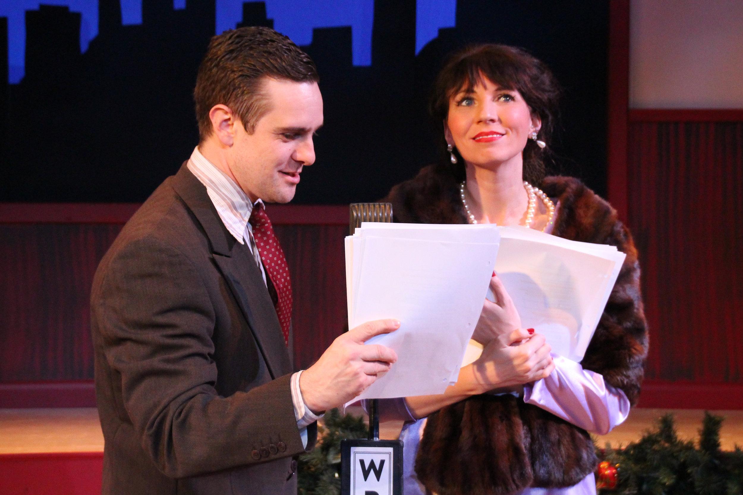 Jon-Michael Miller and Elizabeth Donnelly