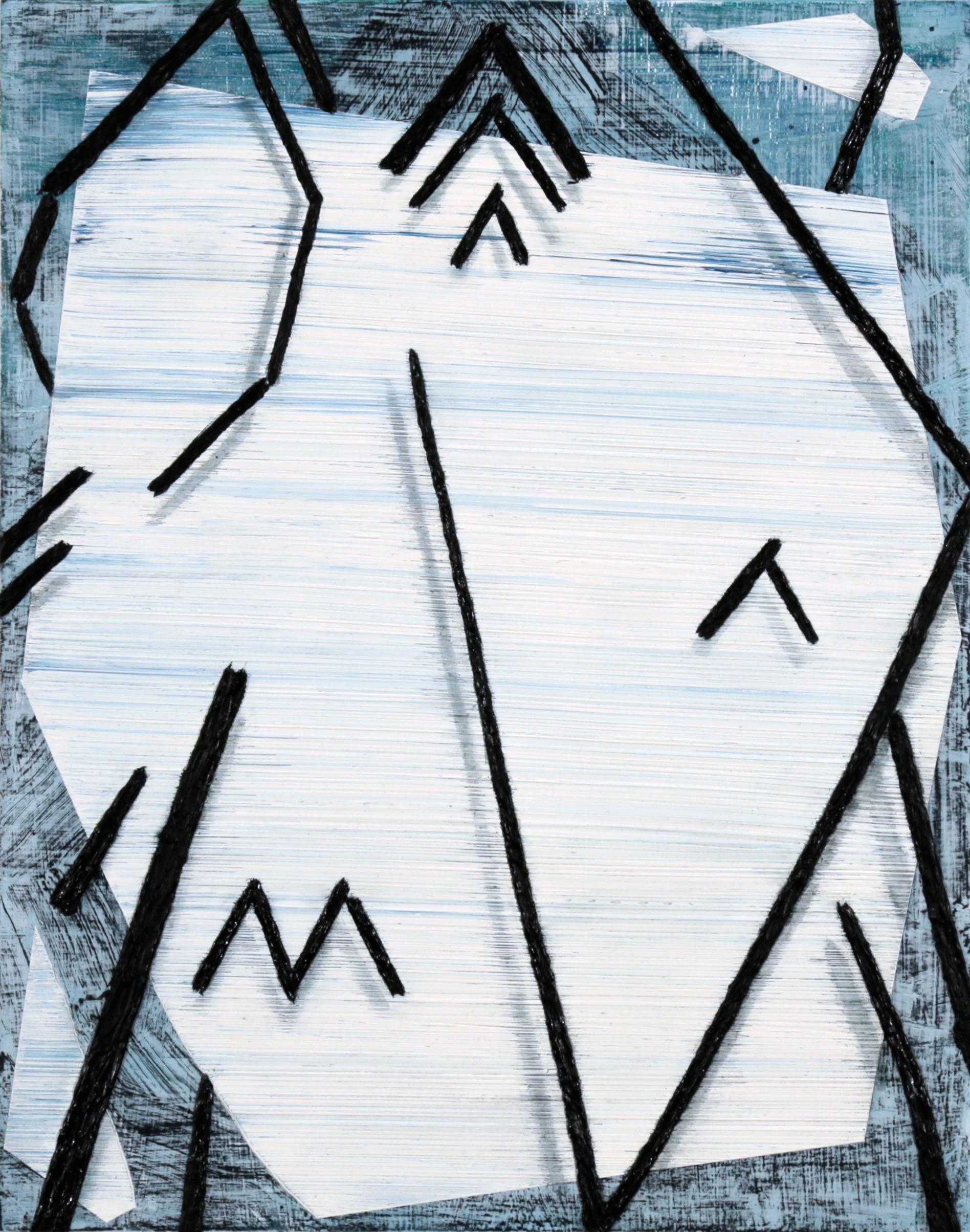 "2017              14""x11""                Oil on Panel"
