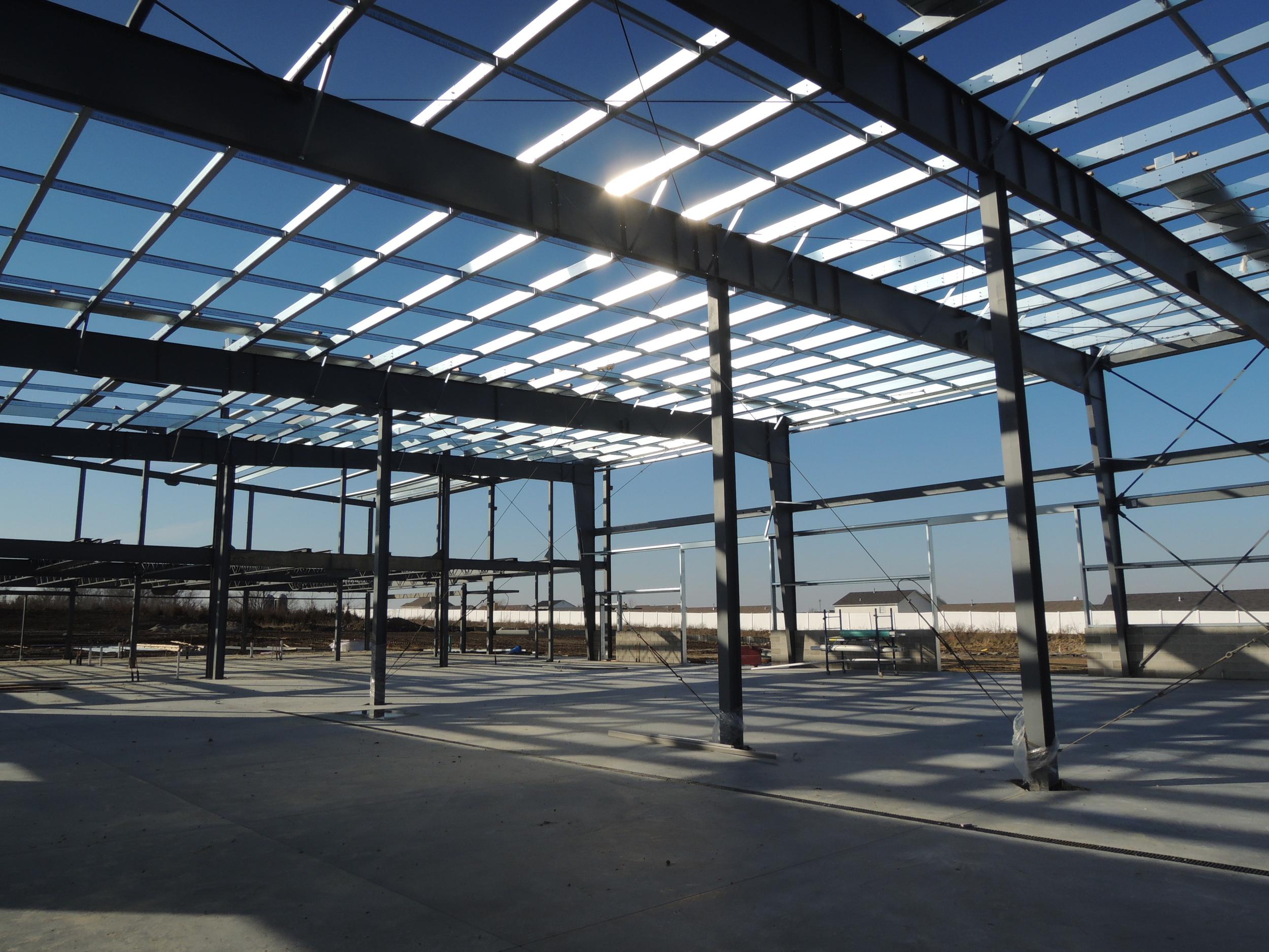 Steel super-structure -