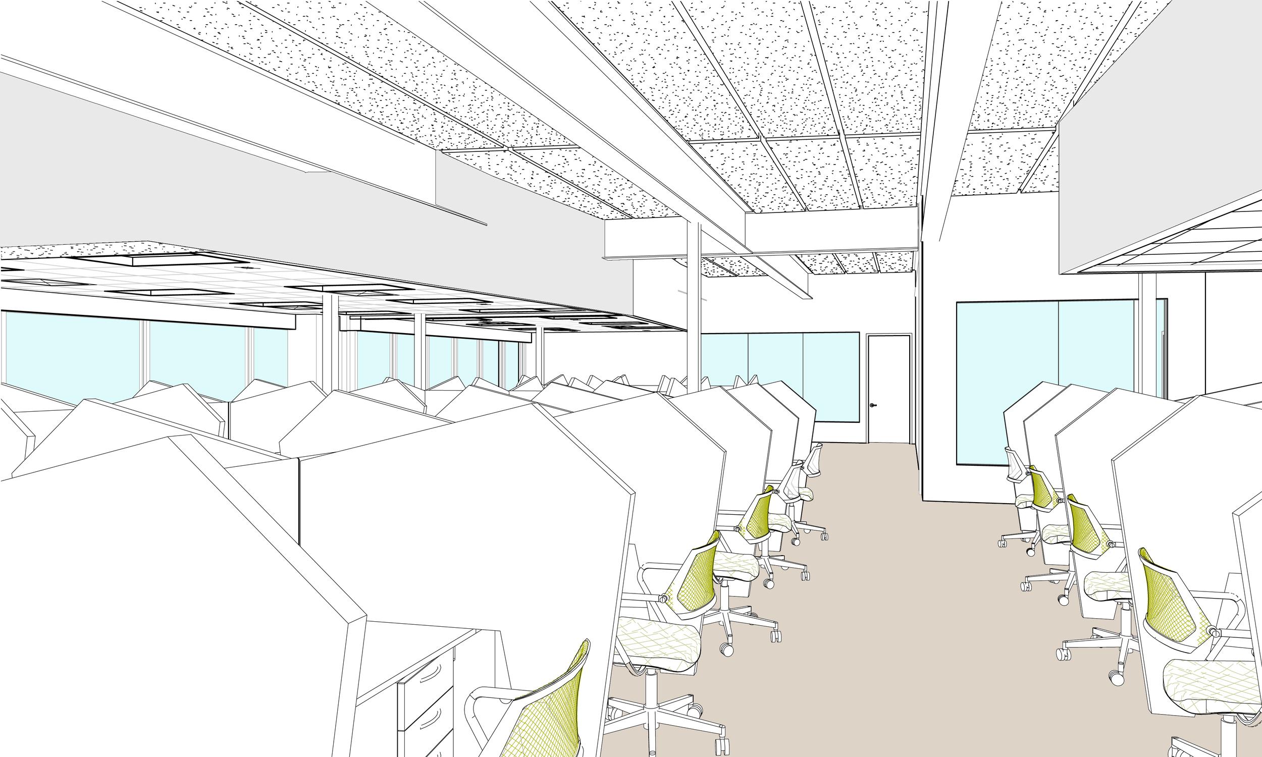 Concept Design for Customer Care area -