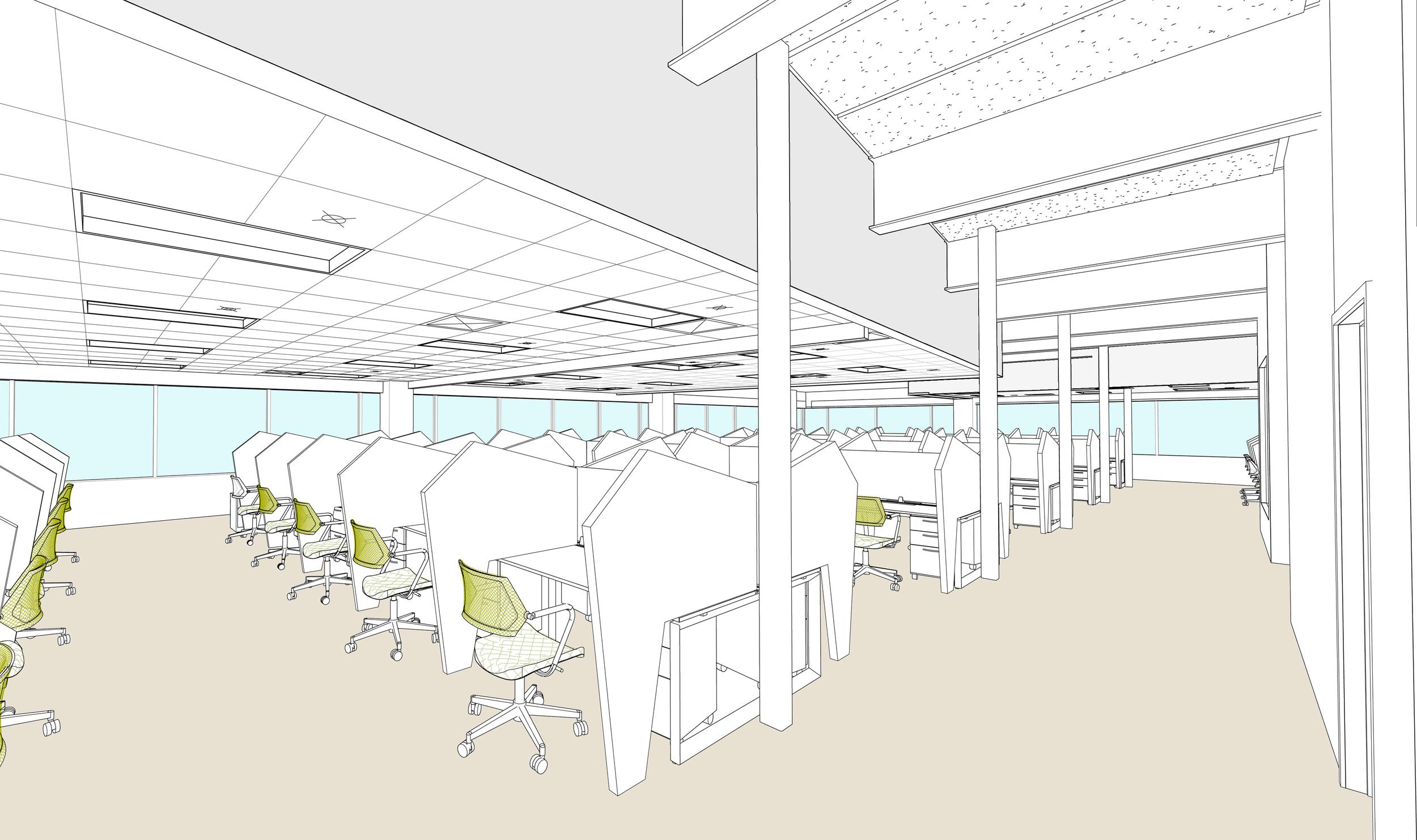 Concept Design for the Customer Care area -