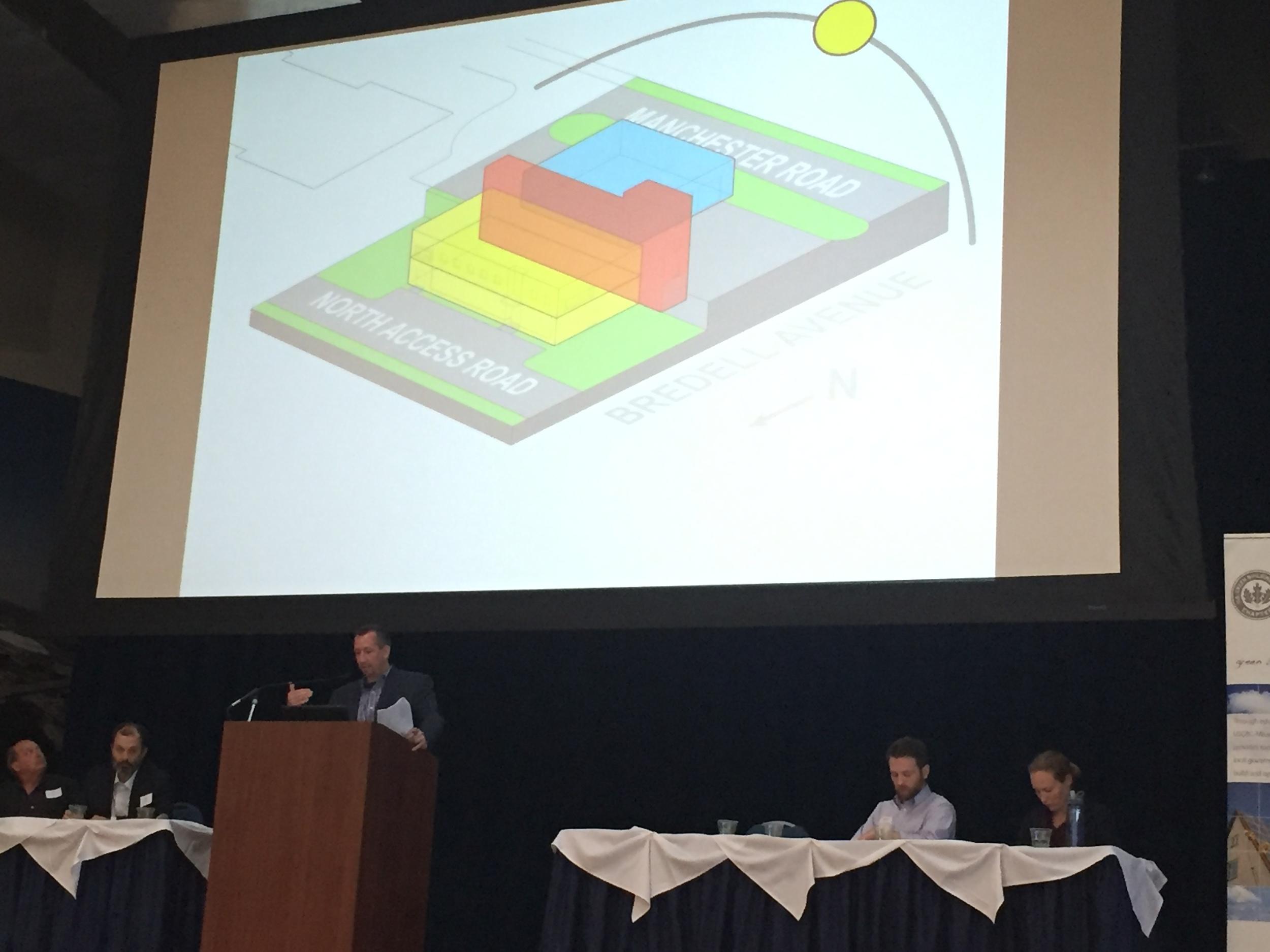 Jon Emert, Partner, JEMA, presents at the USGBC Missouri Chapter -