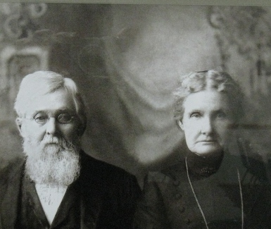 Francis C W and Elizabeth Owen, the founders of Owensville, MO -