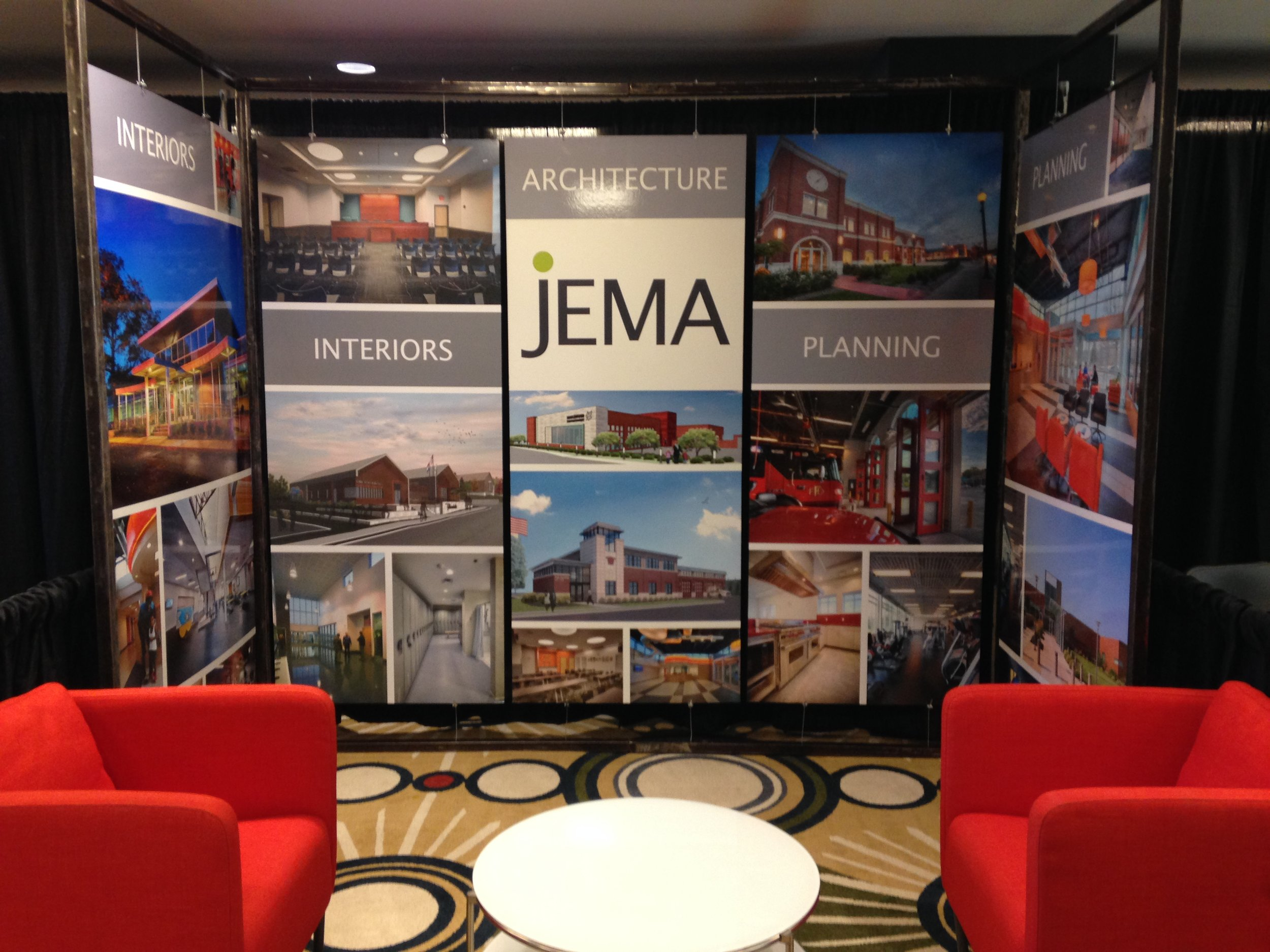 JEMA's exhibit at the MML Conference -