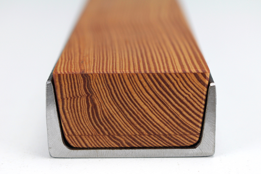 Wood in Steel -