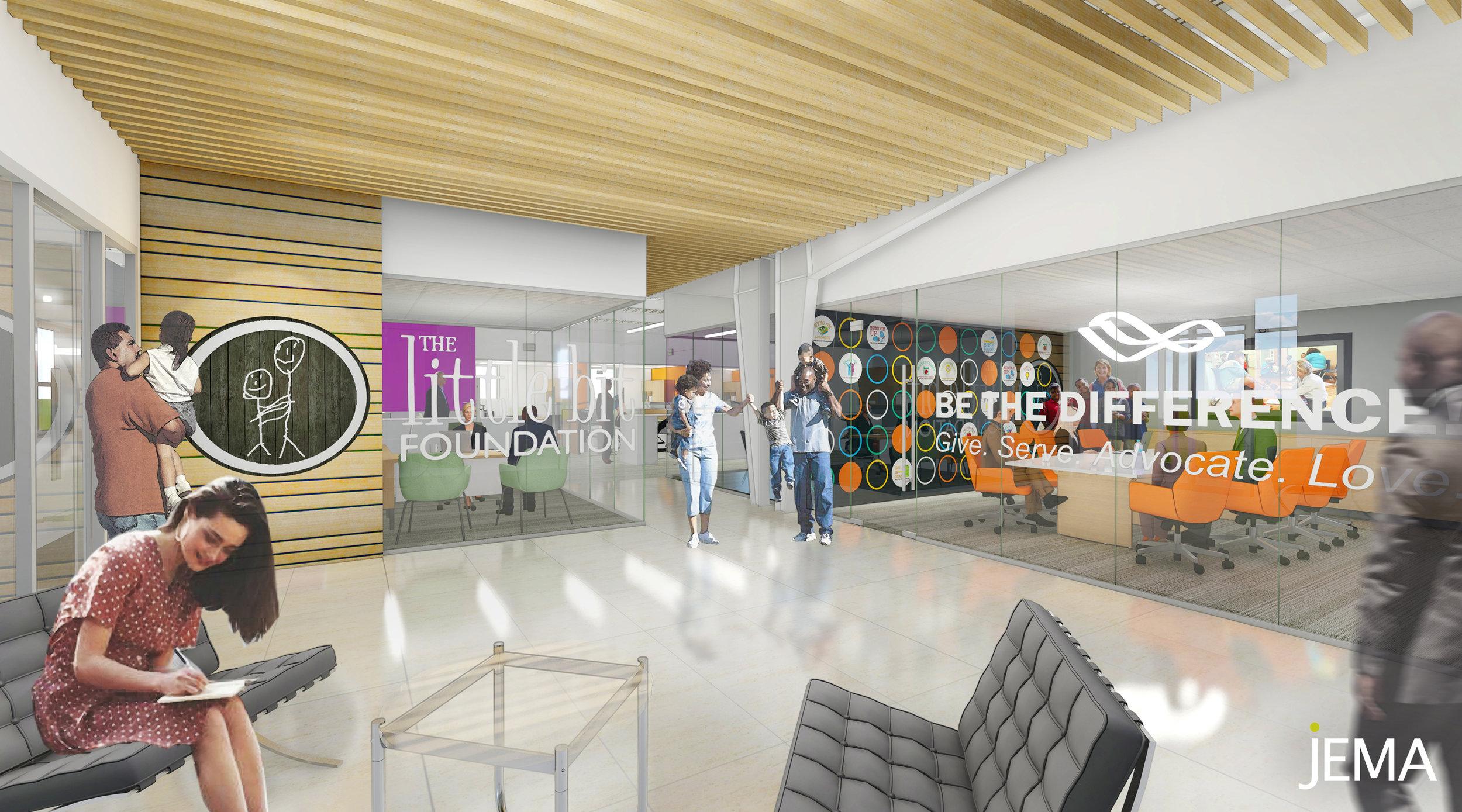 The Little Bit Foundation's new HQ -