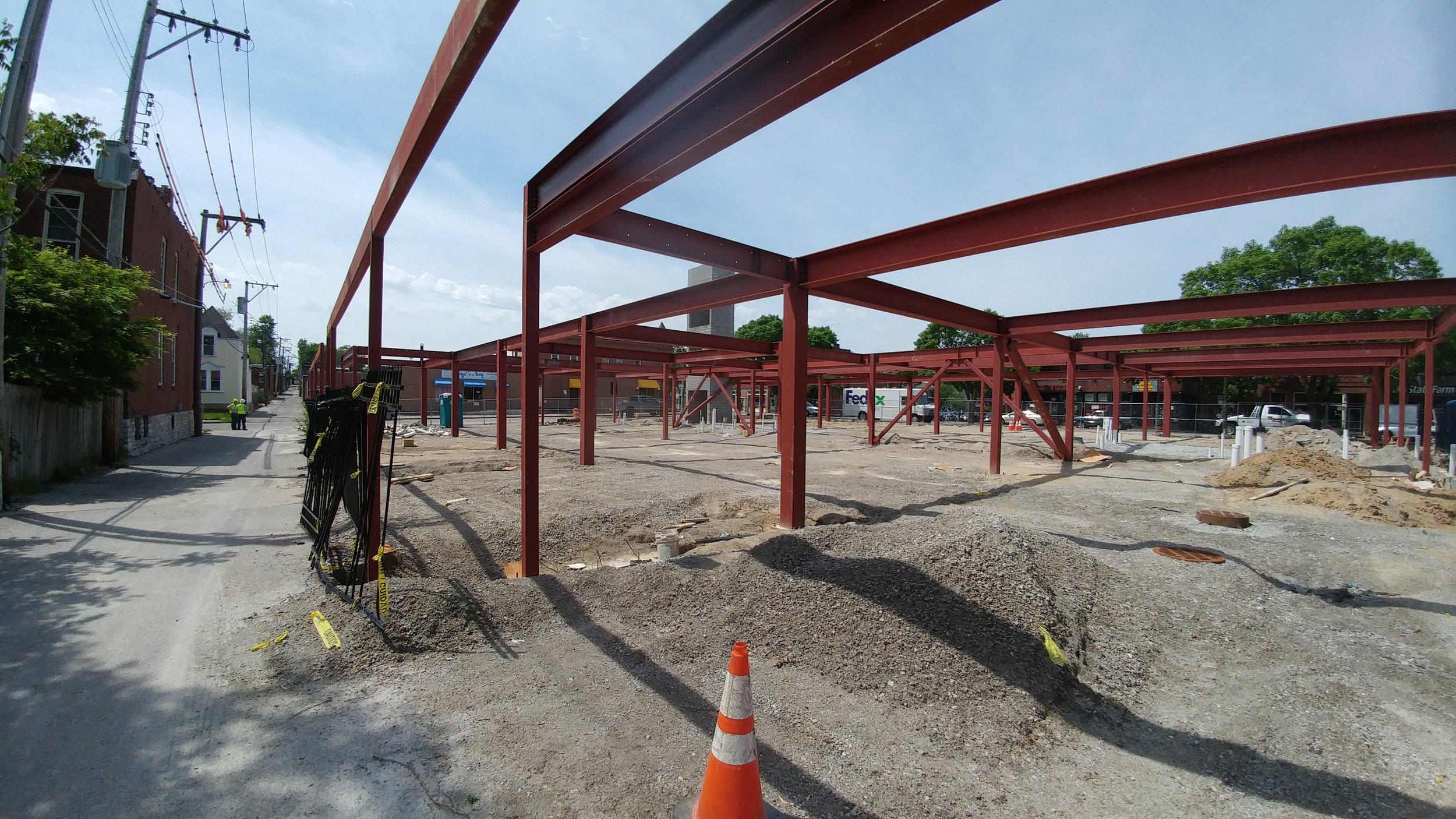 MOFO steel sub-structure -